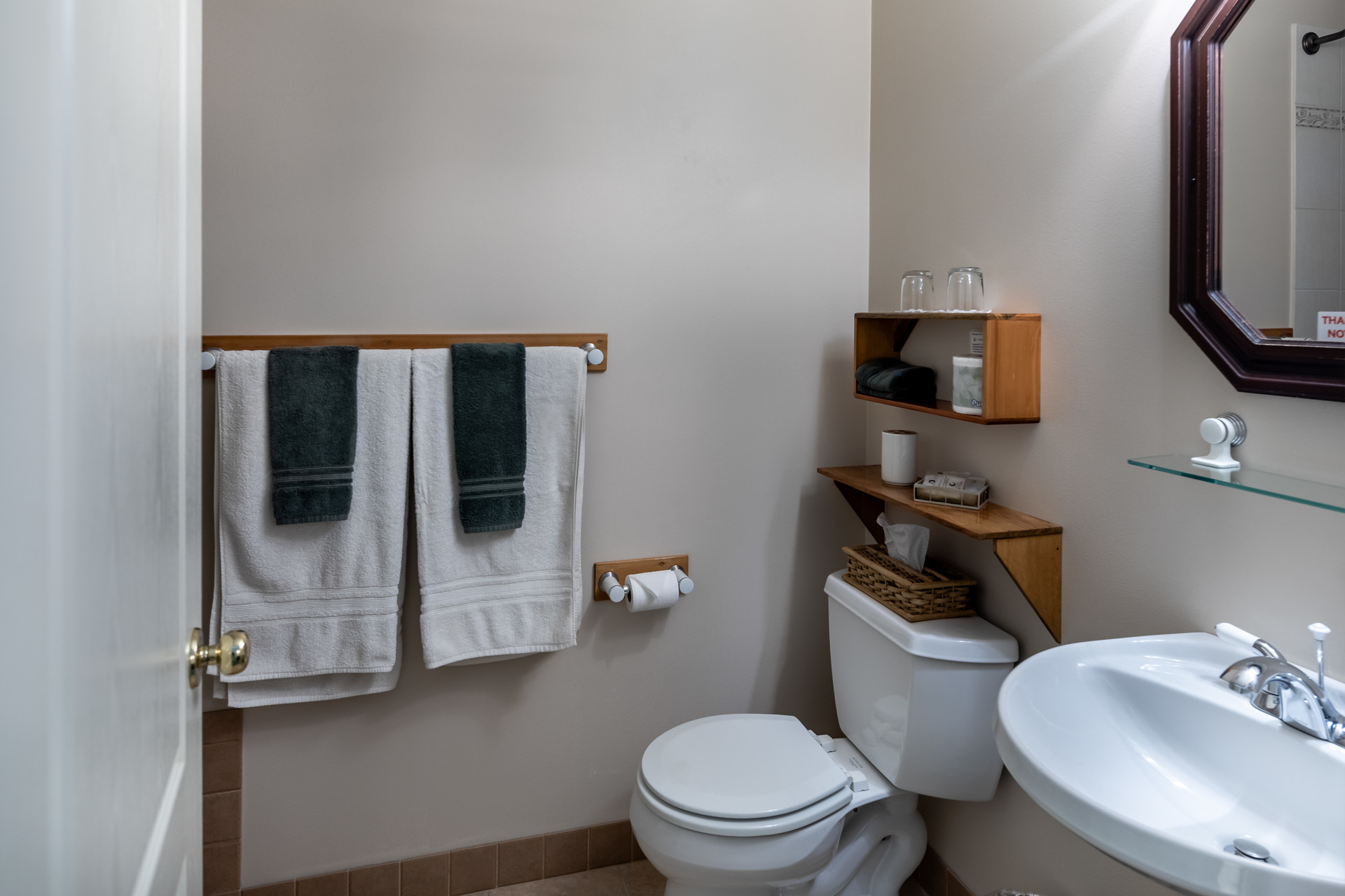 Suite 1 Bathroom at 5895 River Road, Port Alberni, Vancouver Island
