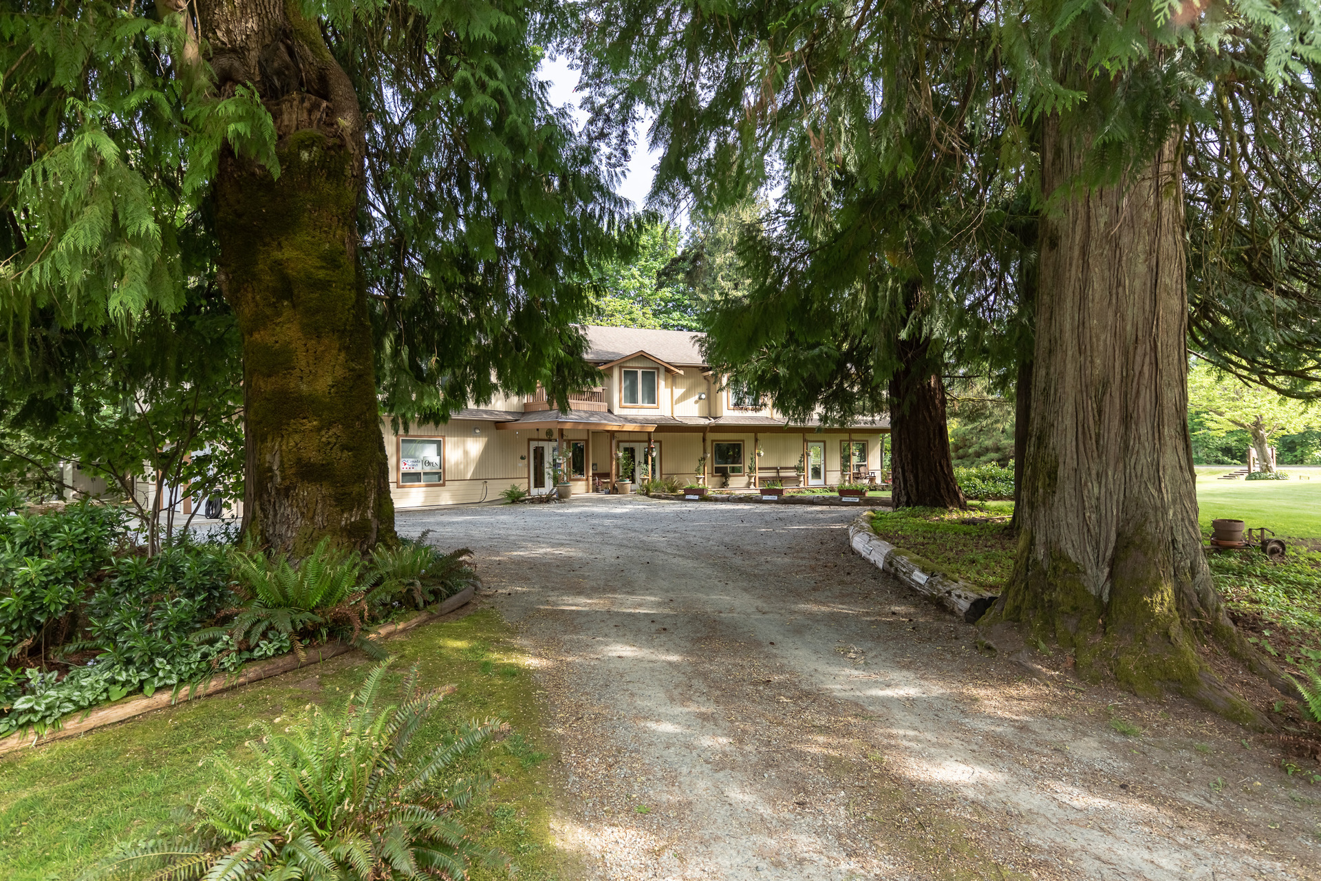 Driveway at 5895 River Road, Port Alberni, Vancouver Island