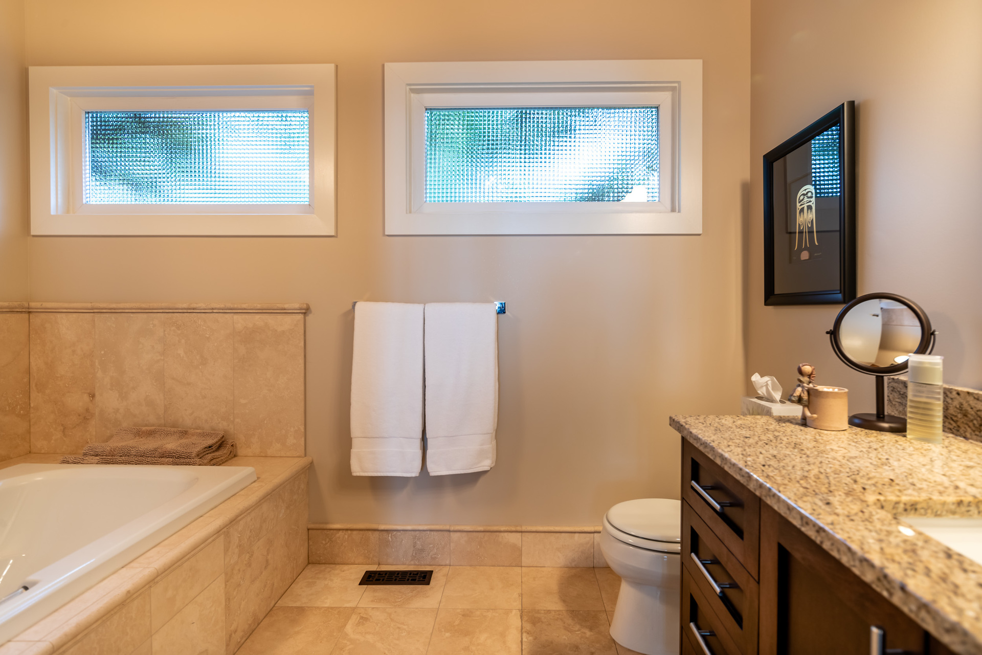 His And Hers Master Ensuites at 4855 Major Road, Cordova Bay, Saanich East
