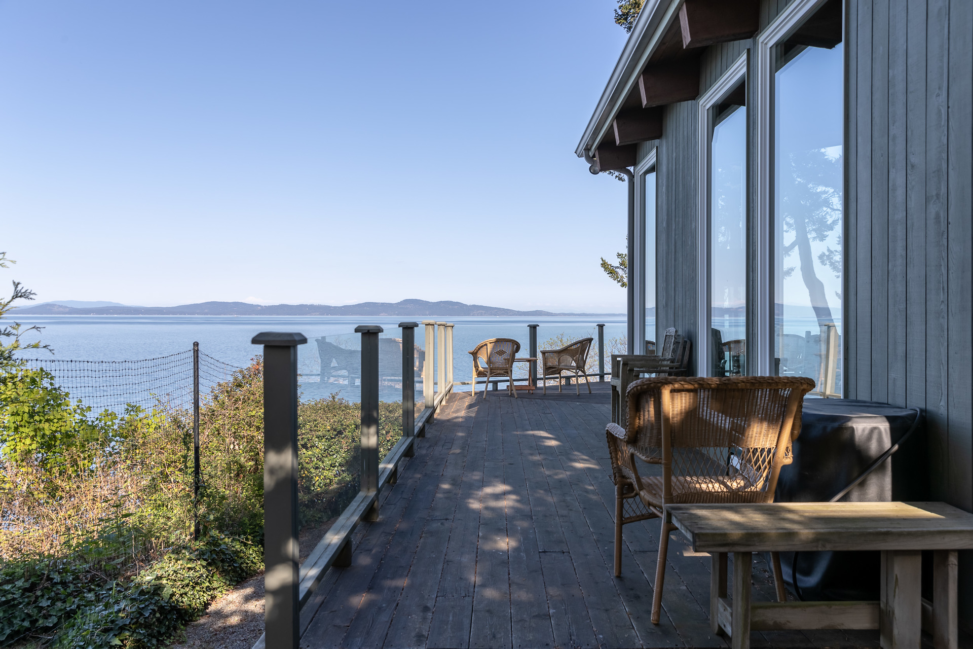 Just Outside The Living Room at 4855 Major Road, Cordova Bay, Saanich East