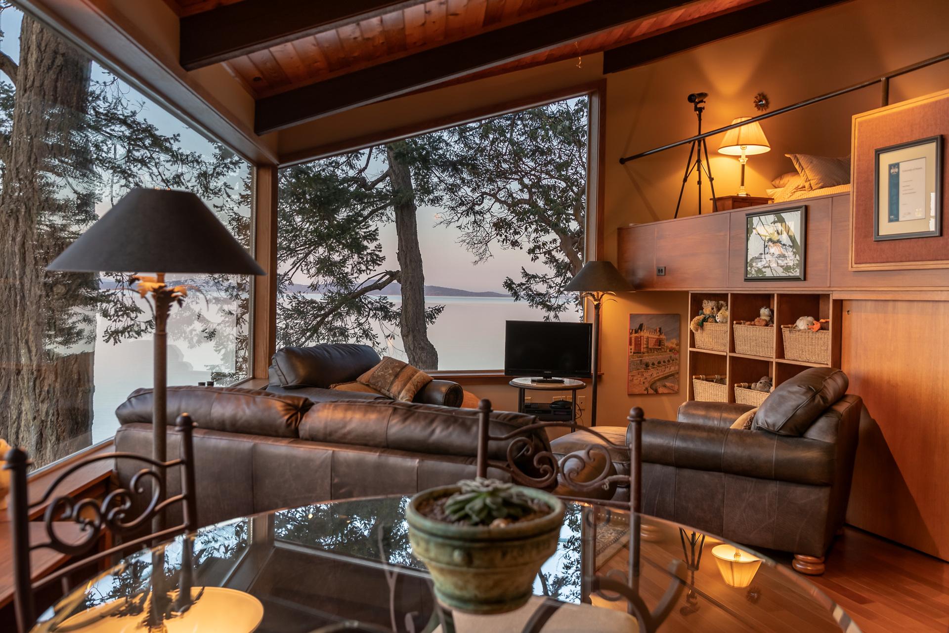 Guest House Ocean Views at 4855 Major Road, Cordova Bay, Saanich East