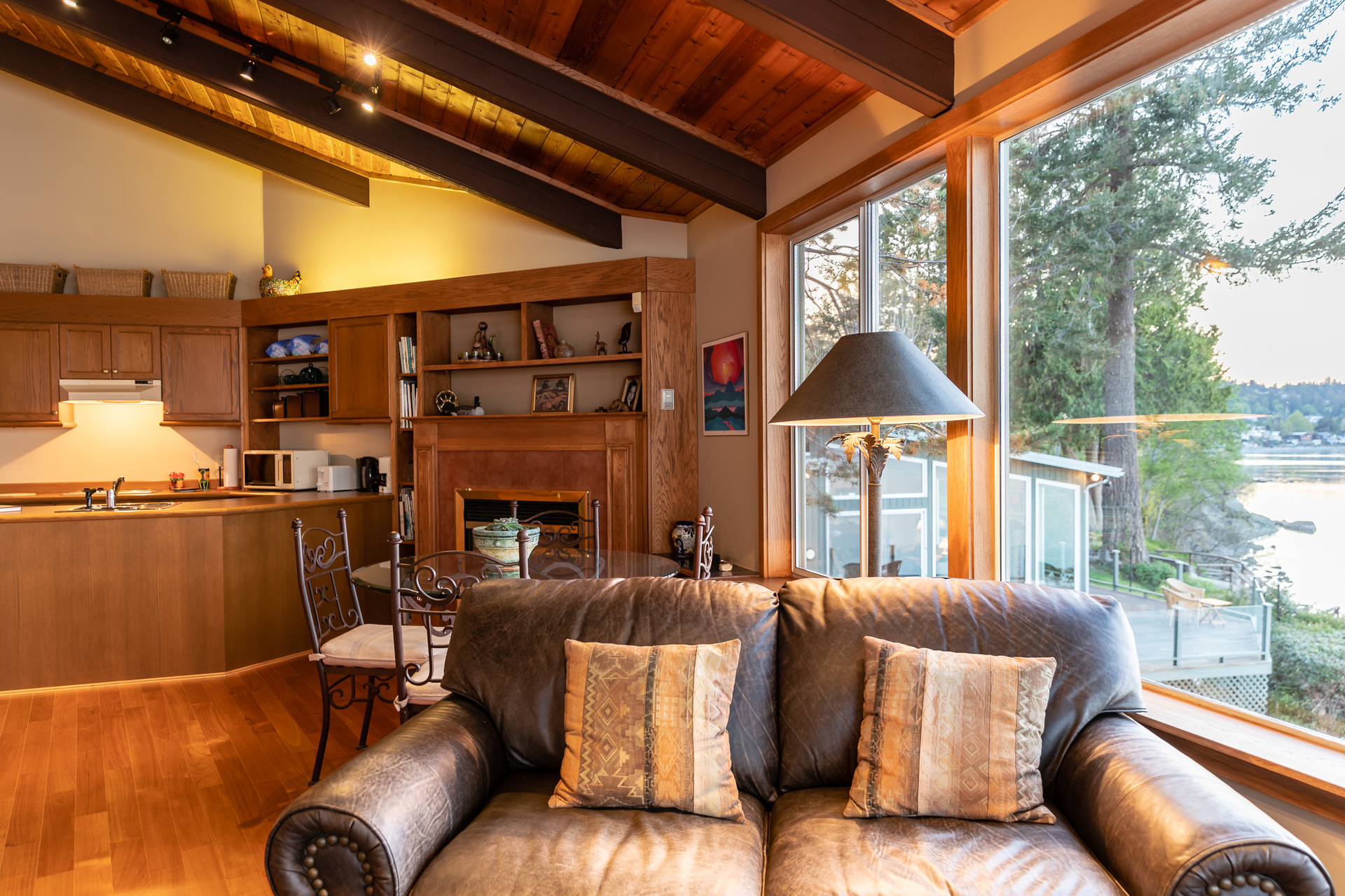 Guest House  Living Space at 4855 Major Road, Cordova Bay, Saanich East