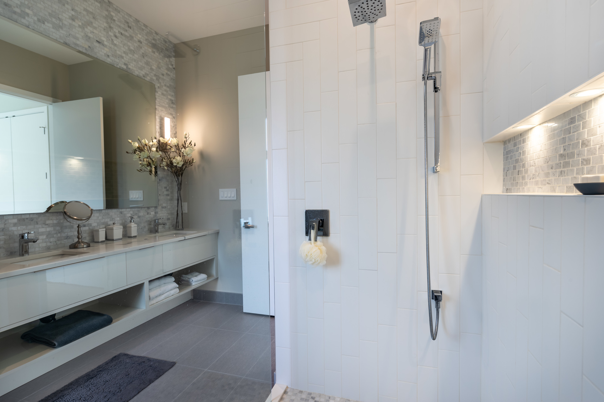 Four-Piece Guest Ensuite at 5101 Jagtar's Way, Prospect Lake, Saanich West