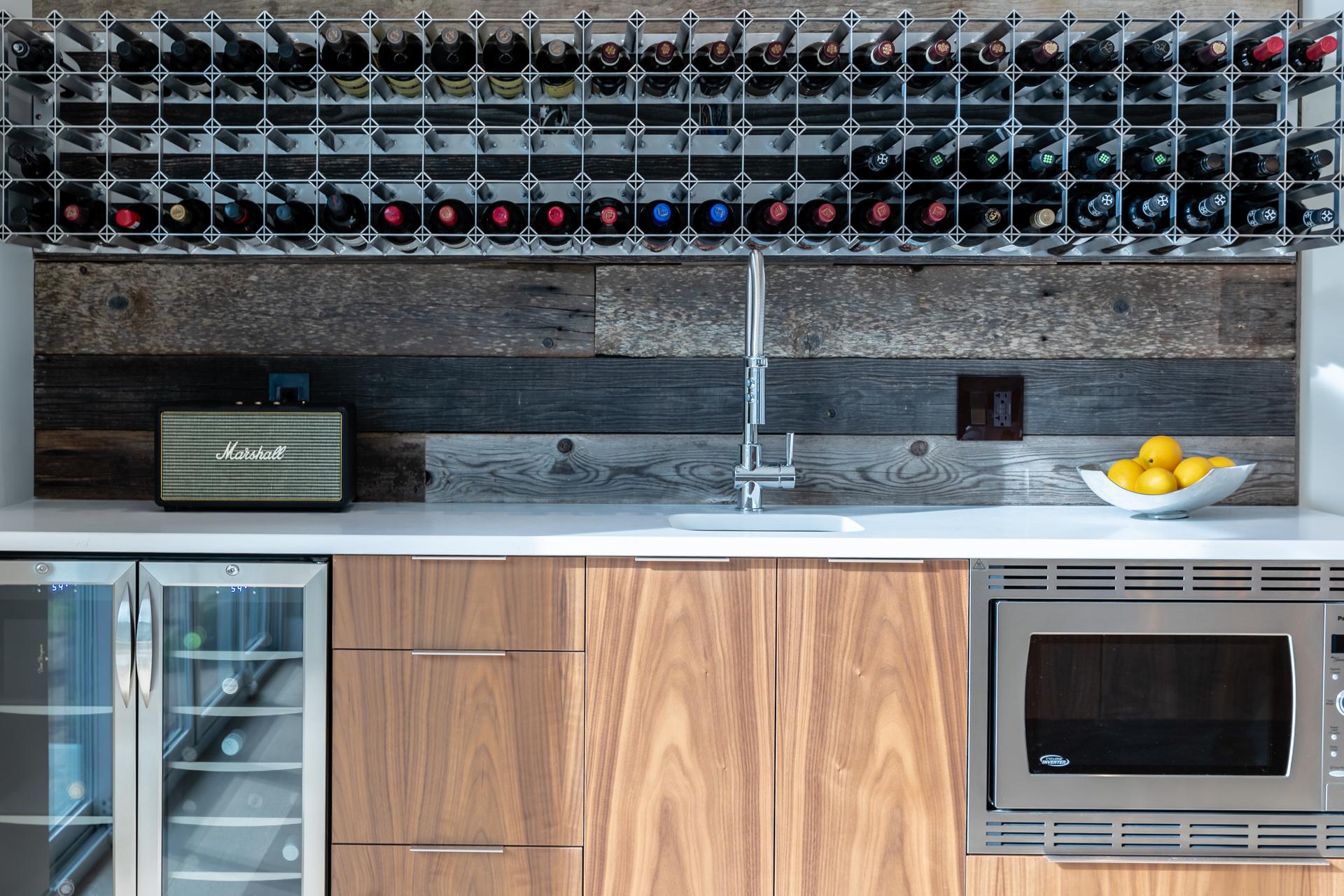 Wet Bar & Wine Storage at 5101 Jagtar's Way, Prospect Lake, Saanich West