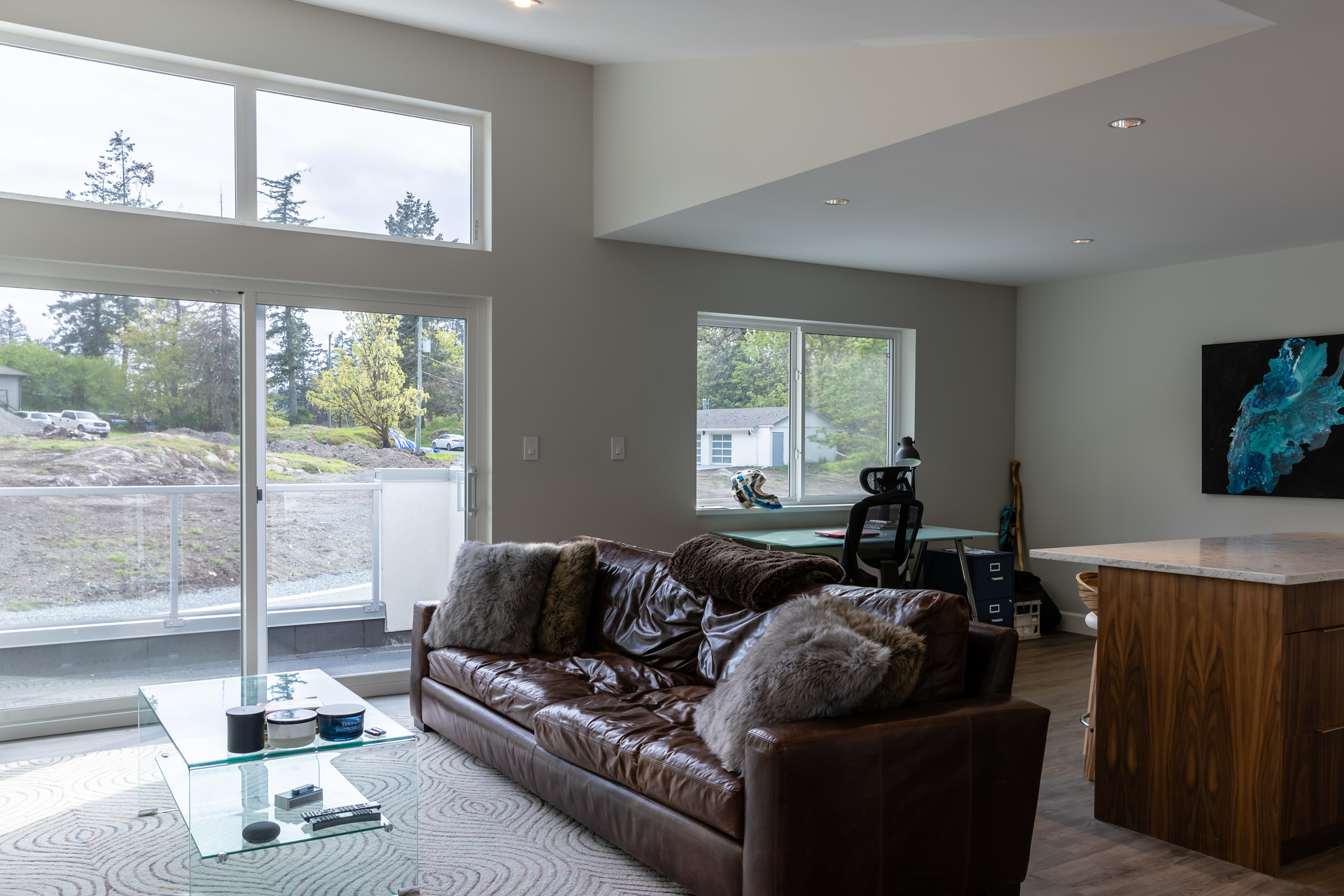 Private Entry Suite With Balcony Above Garage at 5101 Jagtar's Way, Prospect Lake, Saanich West