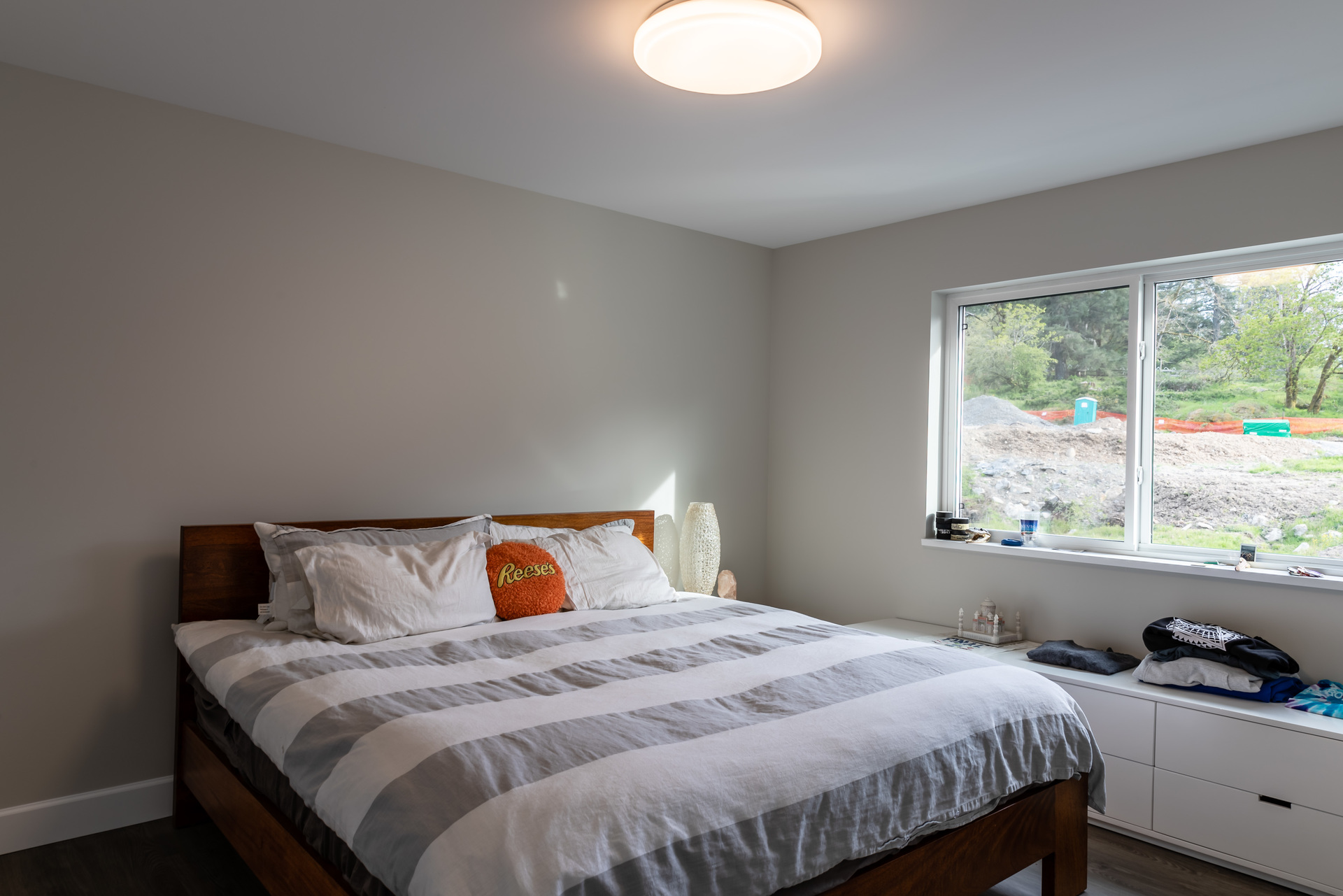 Secondary Suite Bedroom at 5100 & 5101 Jagtar's Way, Prospect Lake, Saanich West