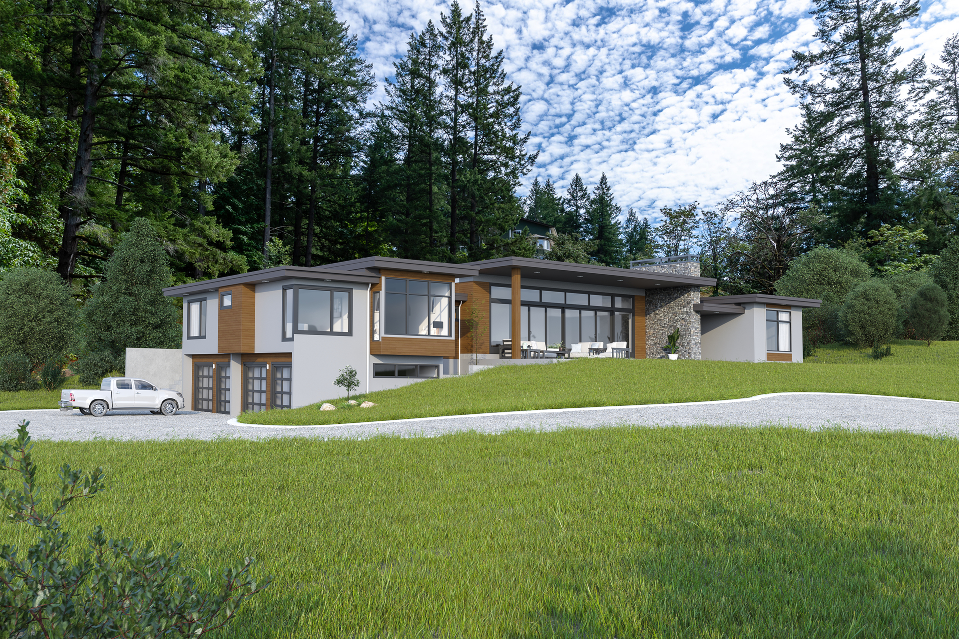 5100 Jagtar's Way - Currently Under Construction: Artist Rendering, Not Exact To Finished Product at 5100 & 5101 Jagtar's Way, Prospect Lake, Saanich West