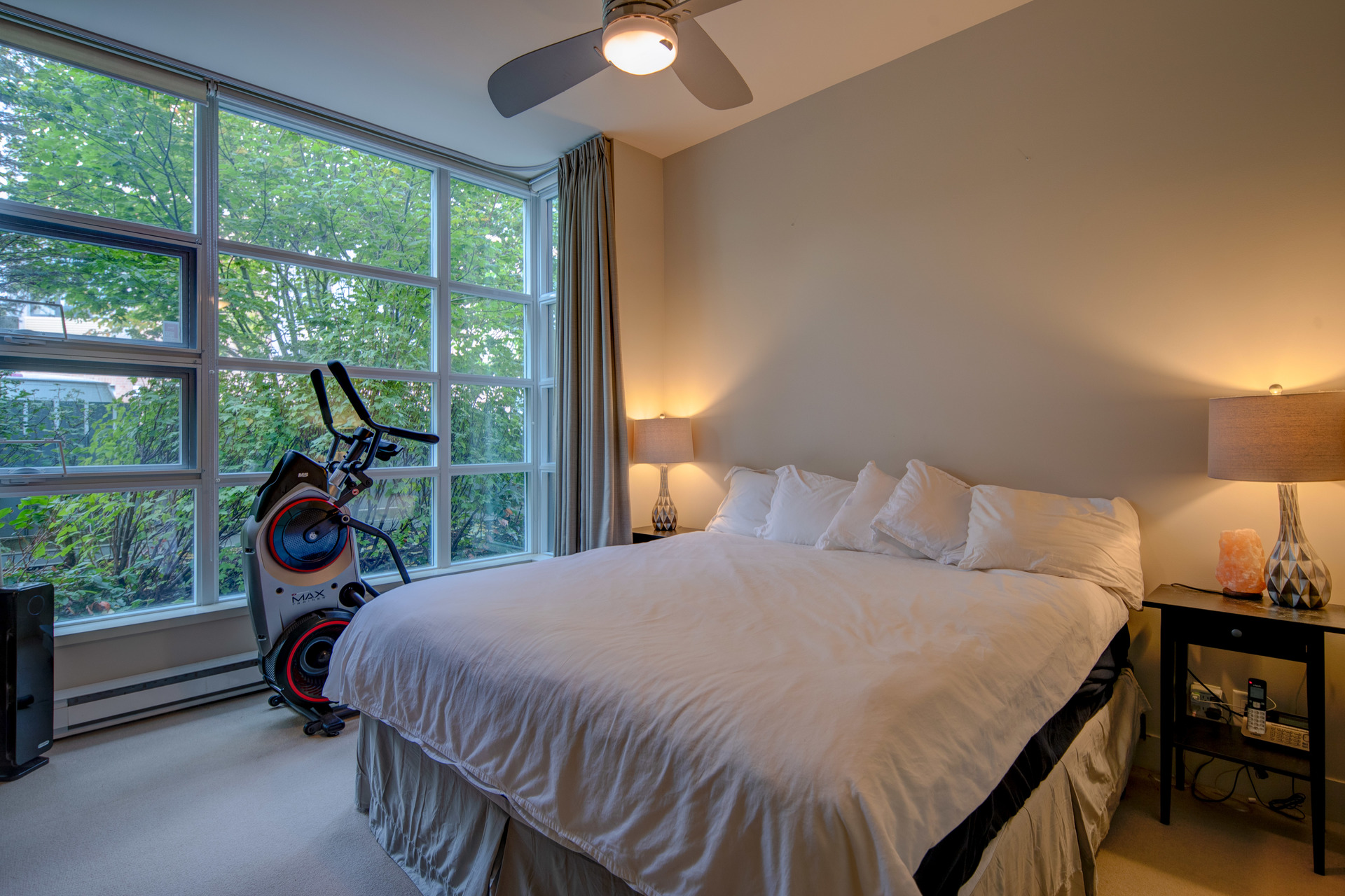 Master Bedroom at 115 - 365 Waterfront Crescent, Rock Bay, Victoria