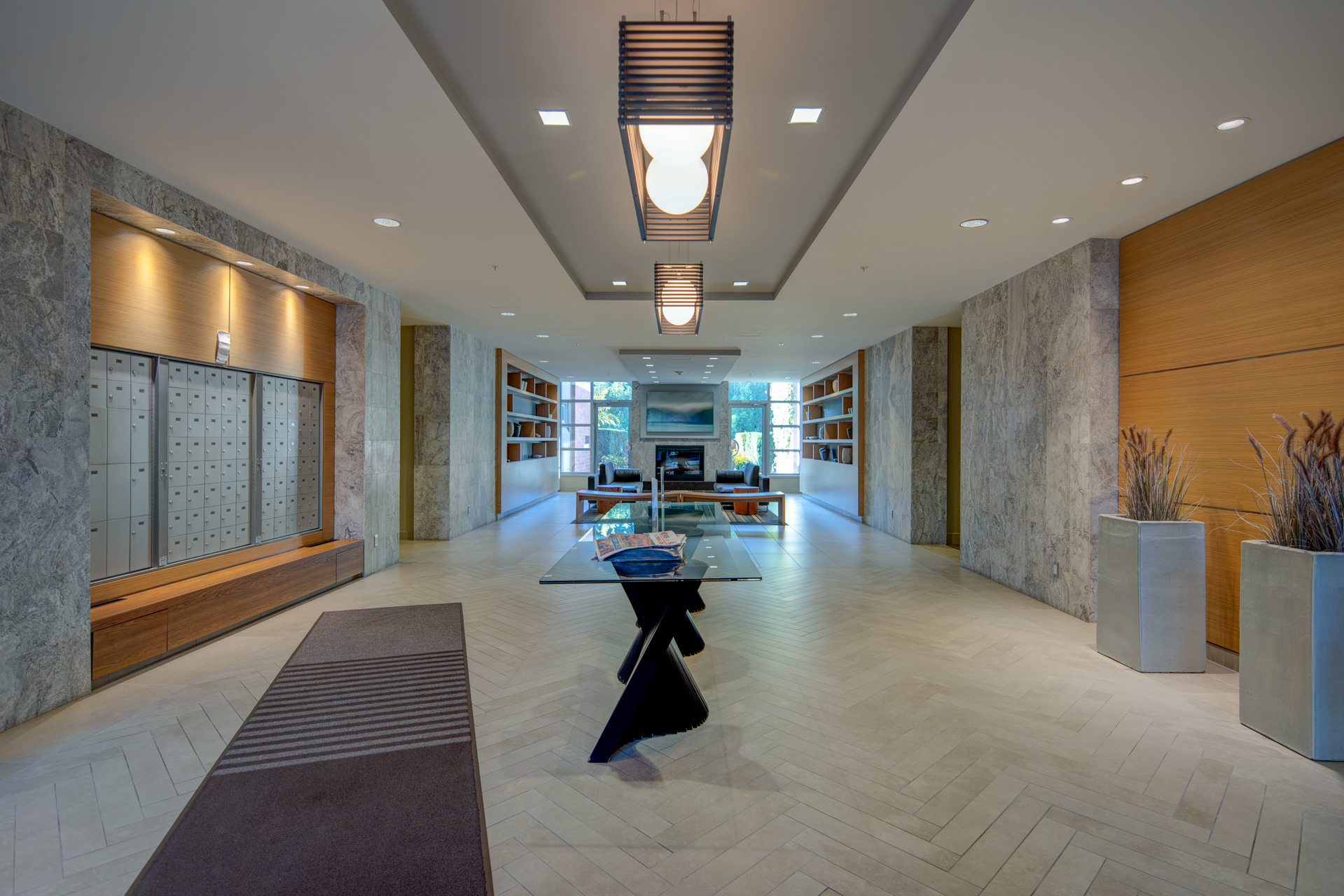 Building Lobby at 115 - 365 Waterfront Crescent, Rock Bay, Victoria