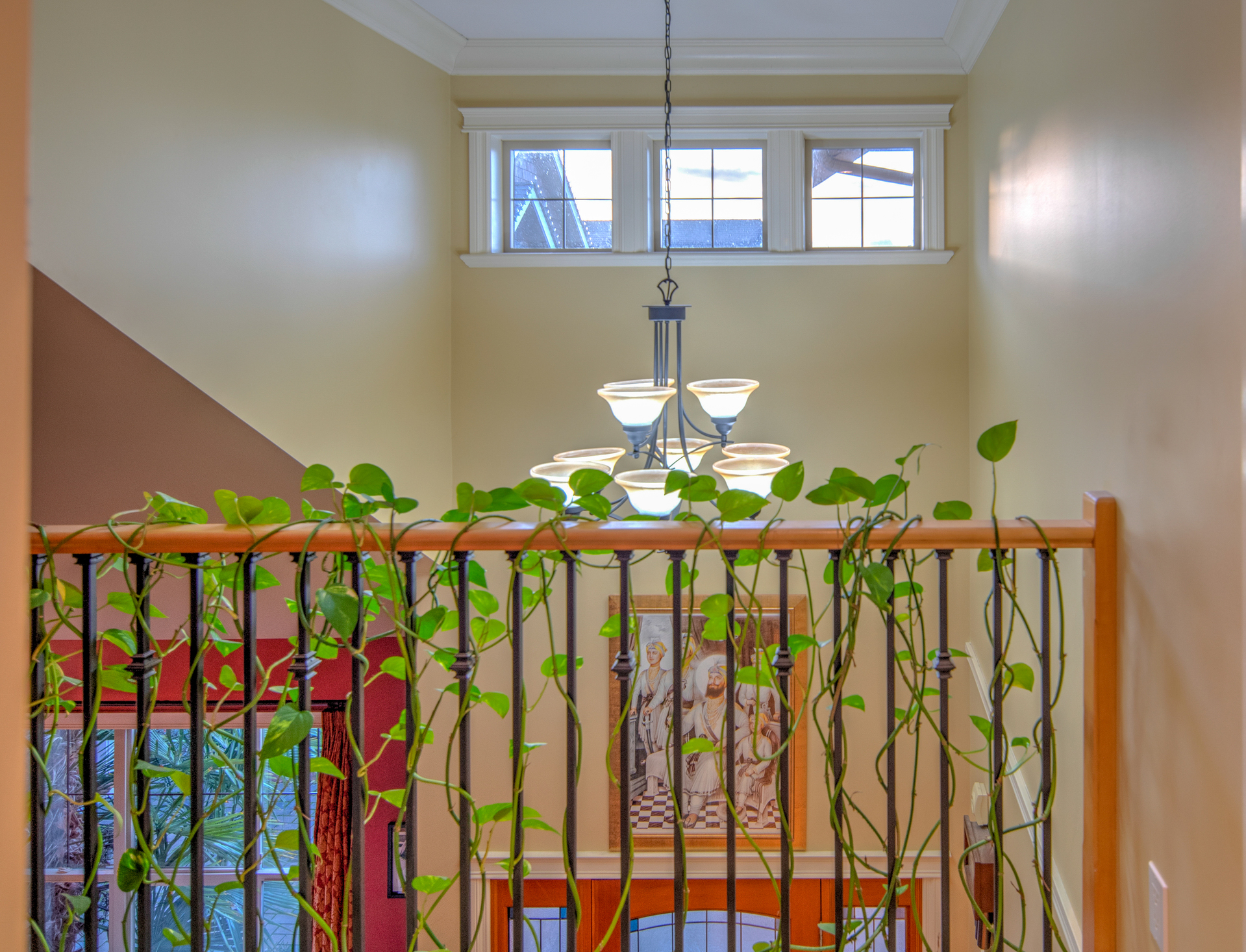 Balcony Overlooking The Front Door at 2741 Cornerstone Terrace, Mill Hill, Langford