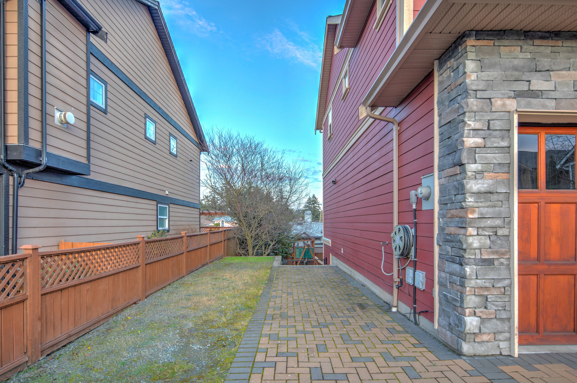 Access To The Backyard at 2741 Cornerstone Terrace, Mill Hill, Langford