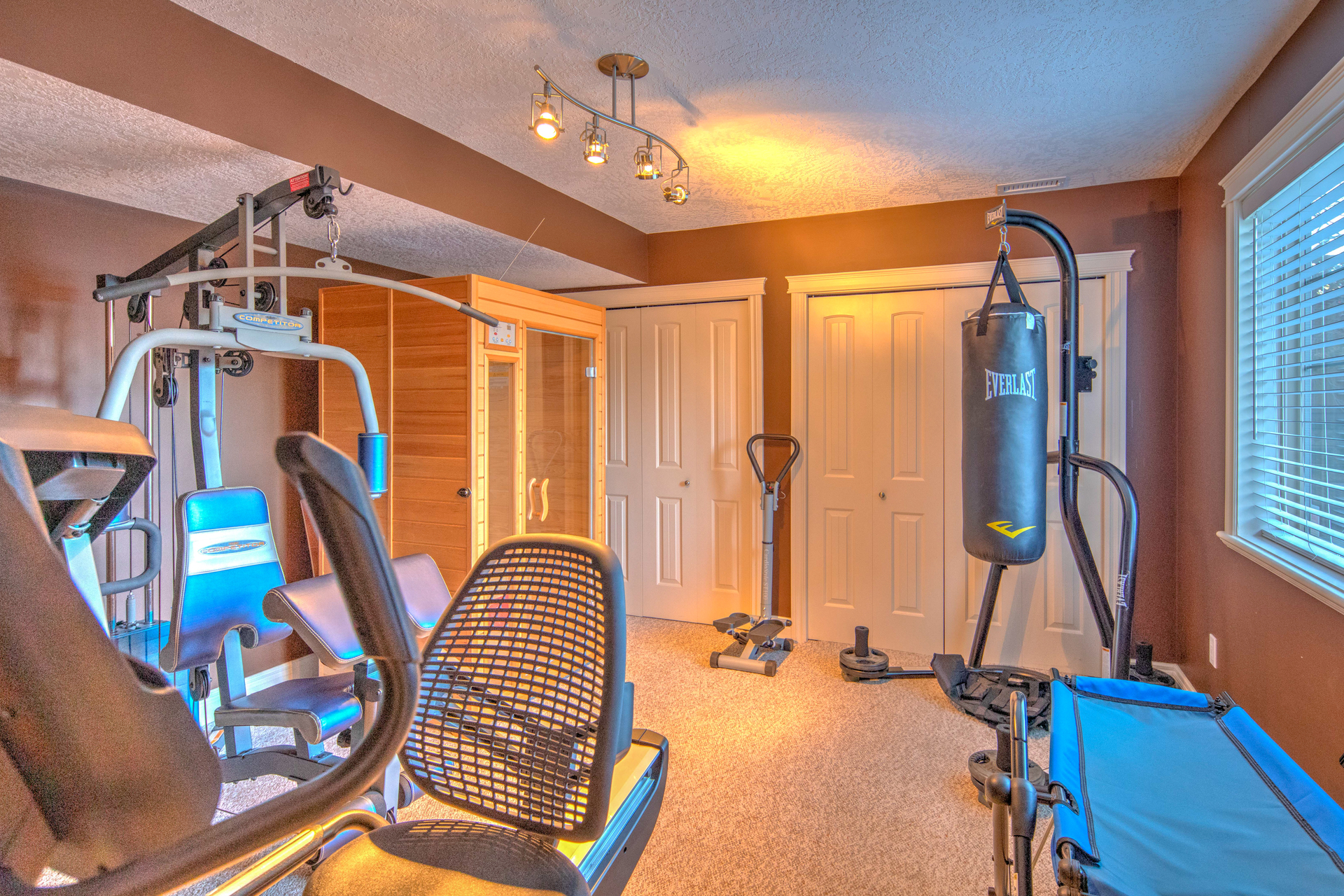 Gym With Sauna at 2741 Cornerstone Terrace, Mill Hill, Langford