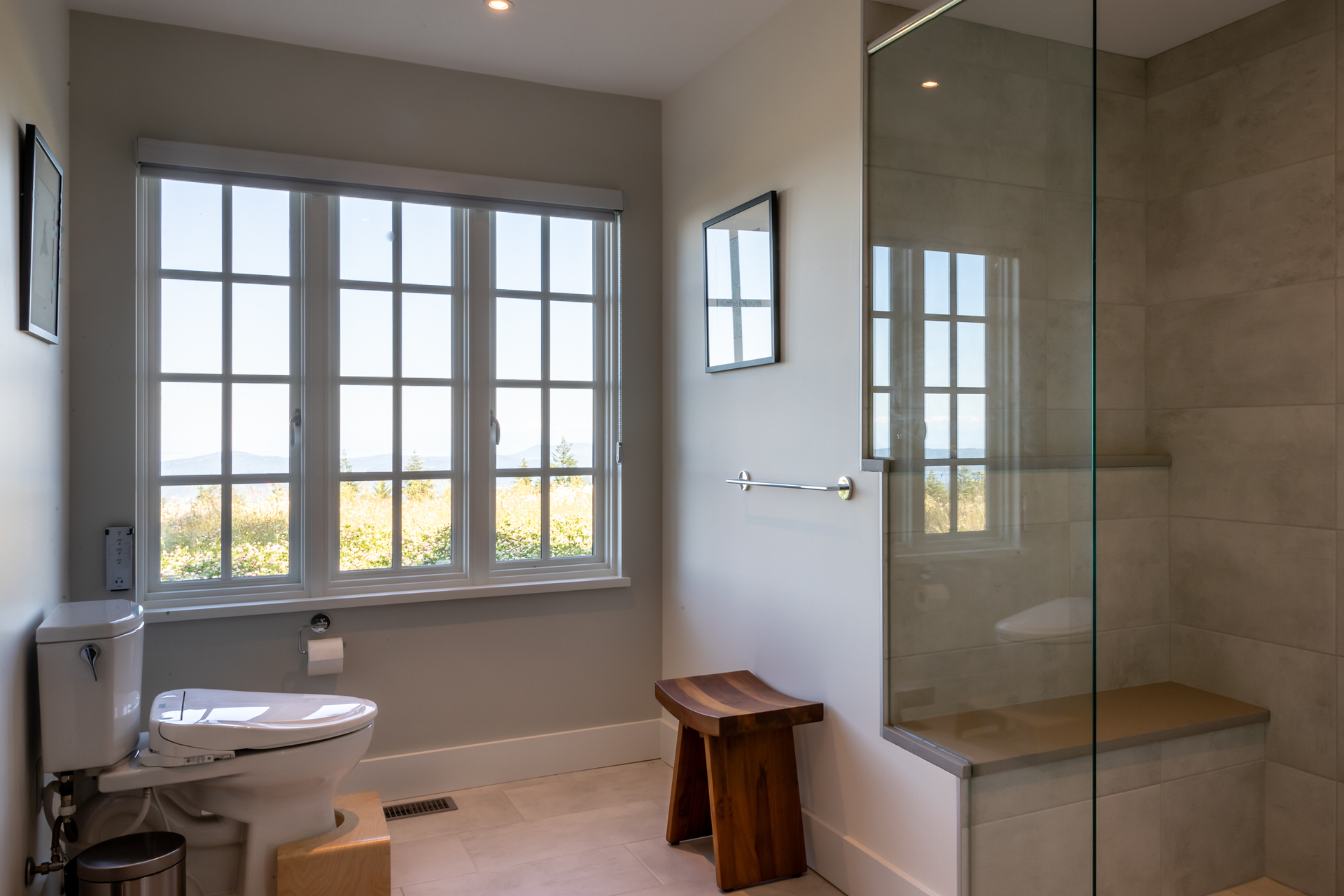 Sun Ensuite at 377 Seymour Heights, Salt Spring, Gulf Islands