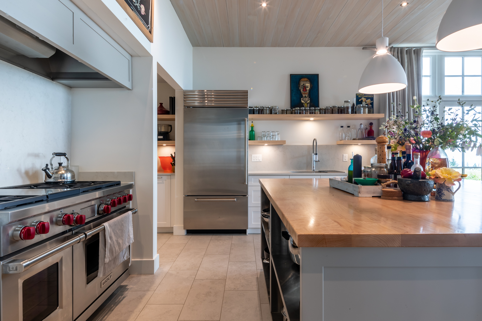 Premium Appliances at 377 Seymour Heights, Salt Spring, Gulf Islands