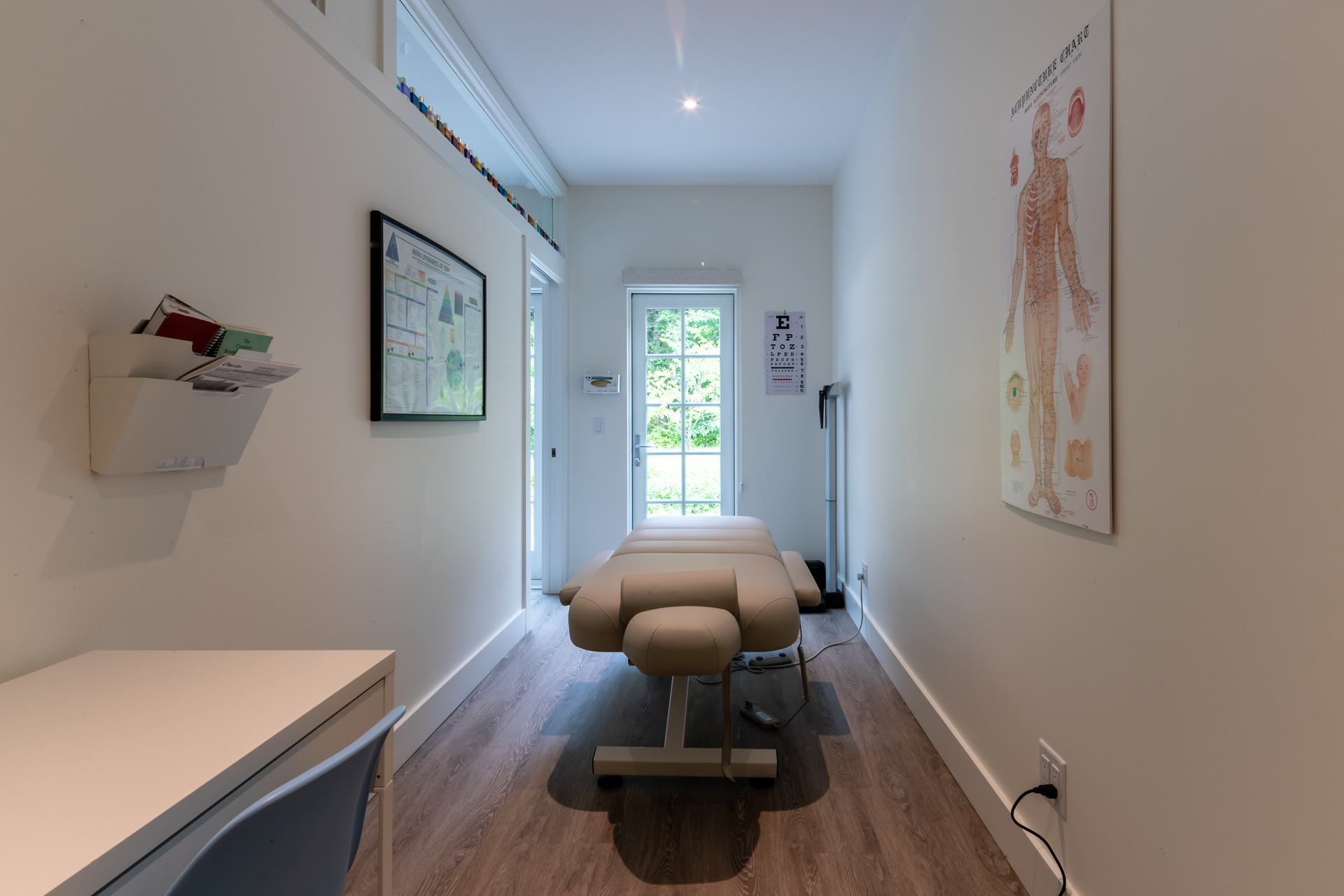 Treatment Area at 377 Seymour Heights, Salt Spring, Gulf Islands