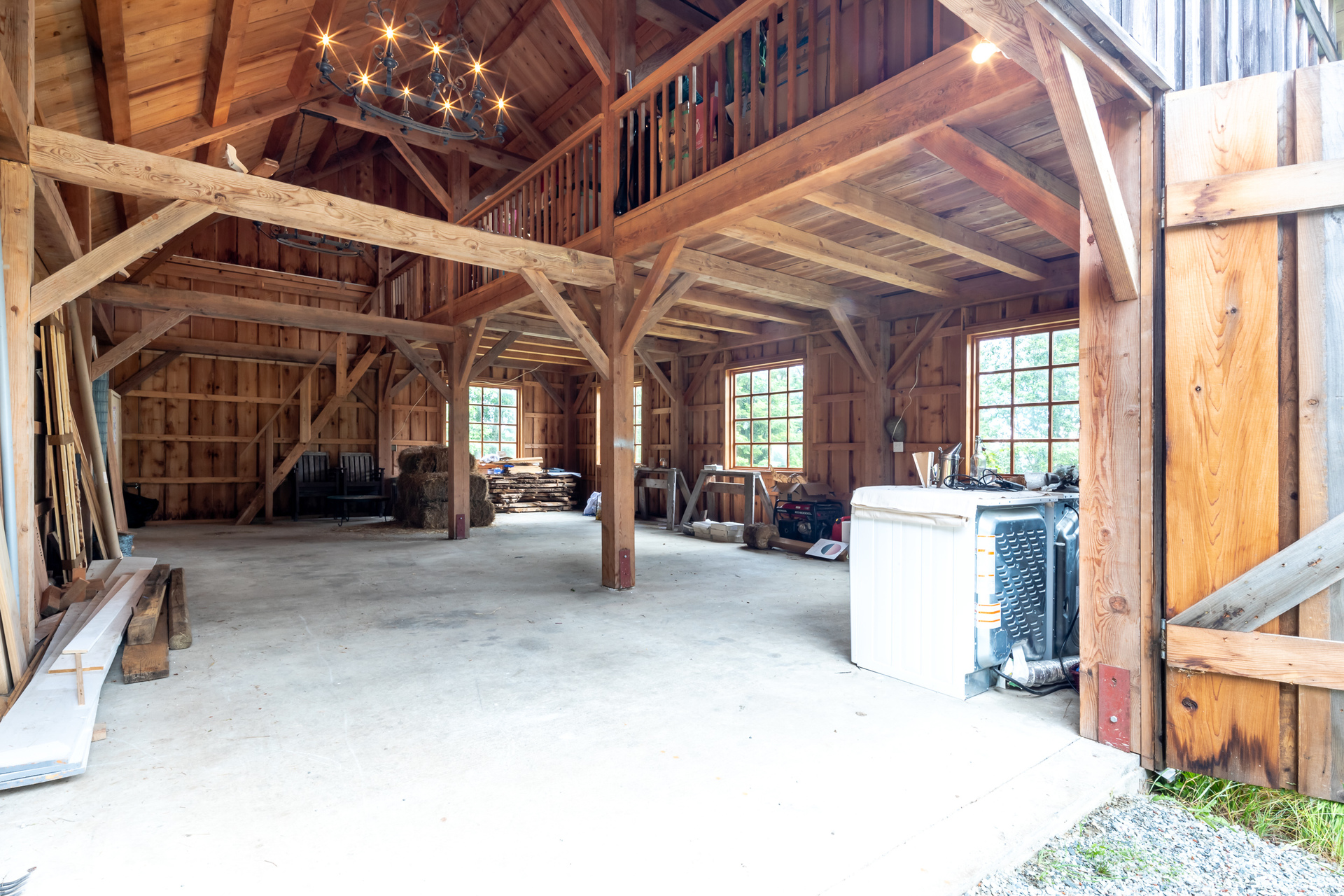 Beautifully Constructed Barn at 377 Seymour Heights, Salt Spring, Gulf Islands