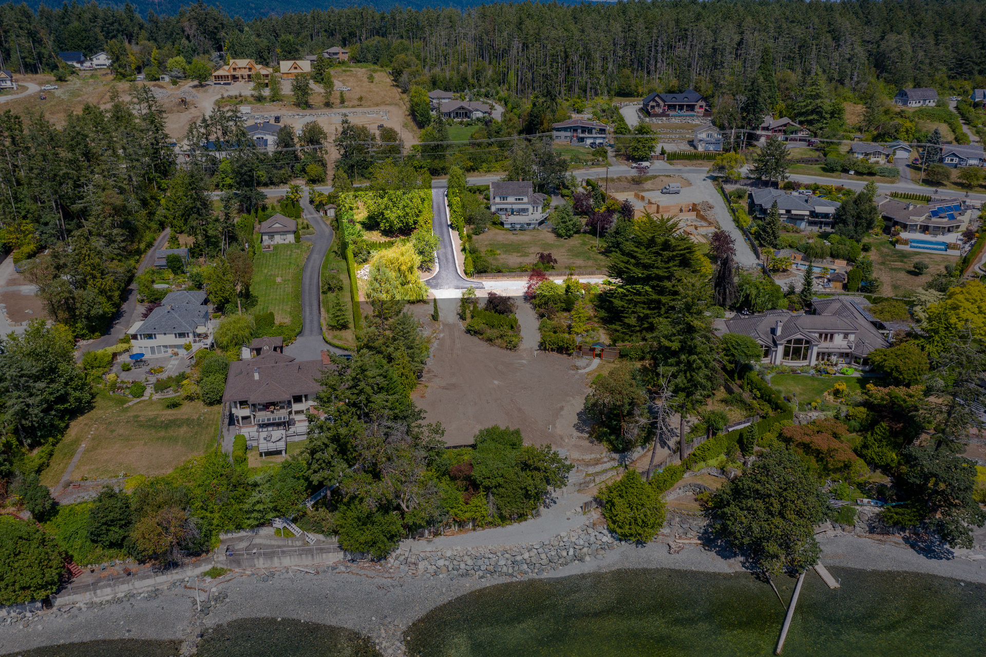 Common Property at 11332 Chalet Road, Deep Cove, North Saanich