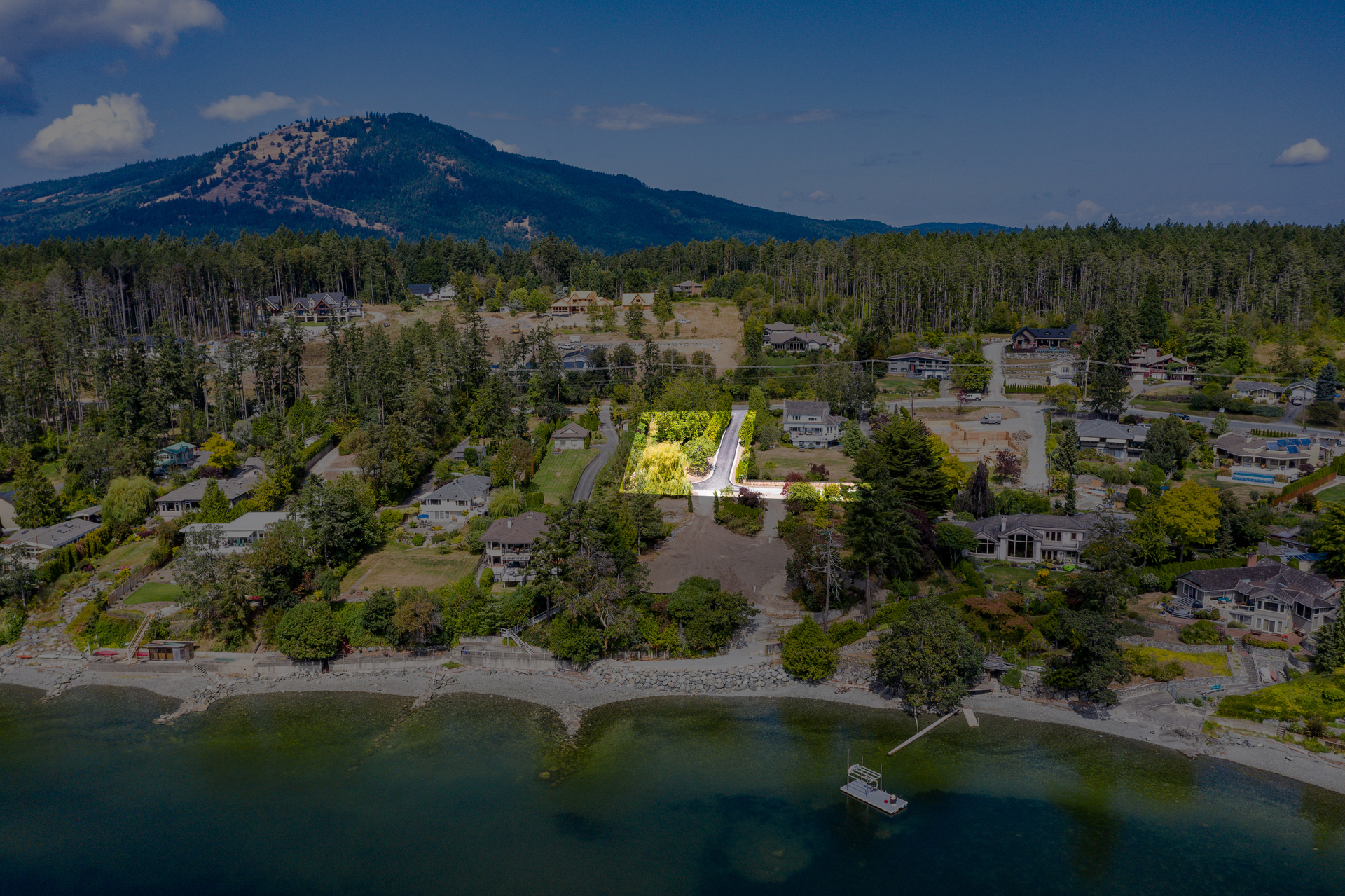 Common Property at 11328 & 11332 Chalet Road, Deep Cove, North Saanich