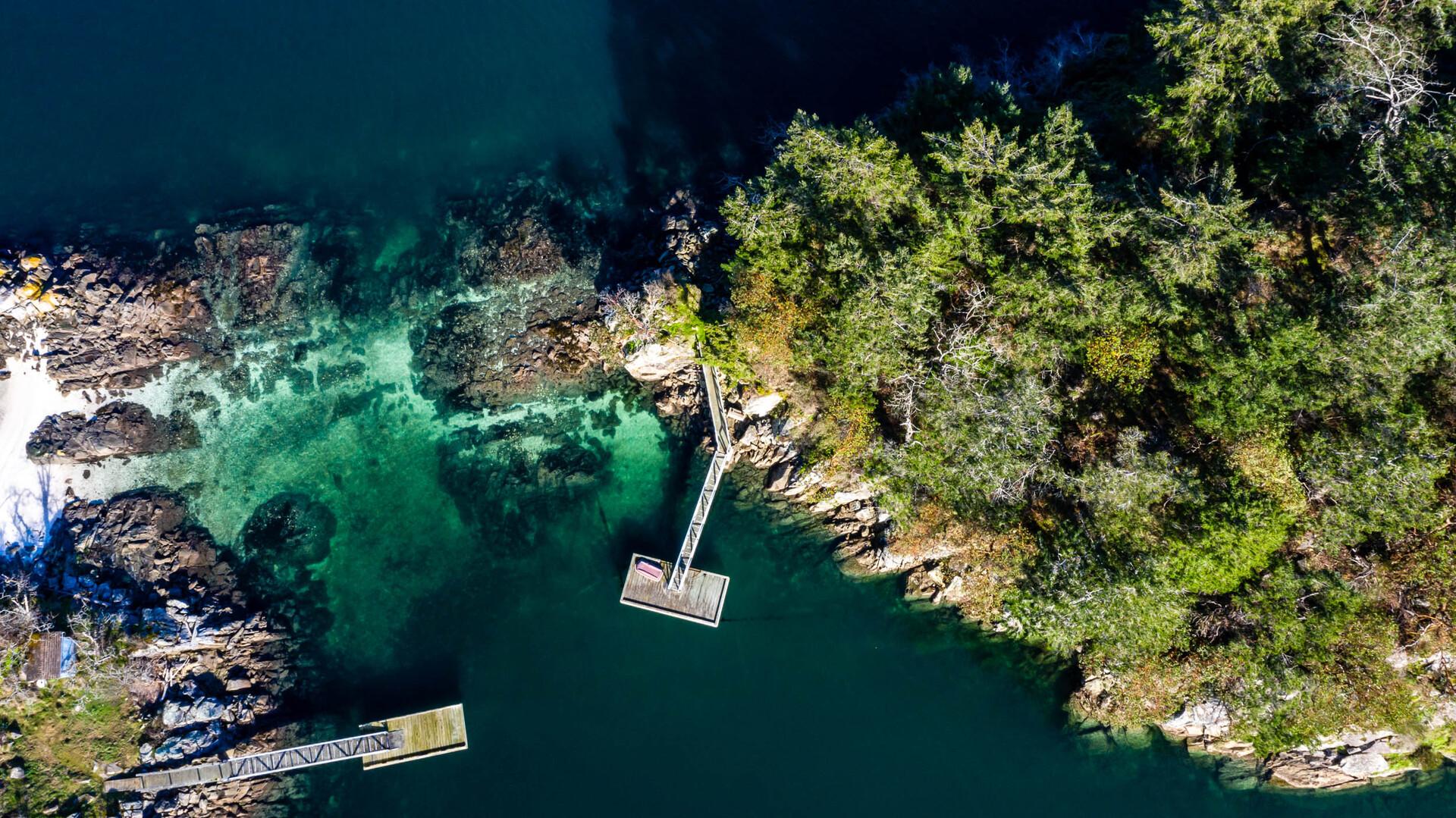 at 0 Second Sister Island, Salt Spring, Gulf Islands
