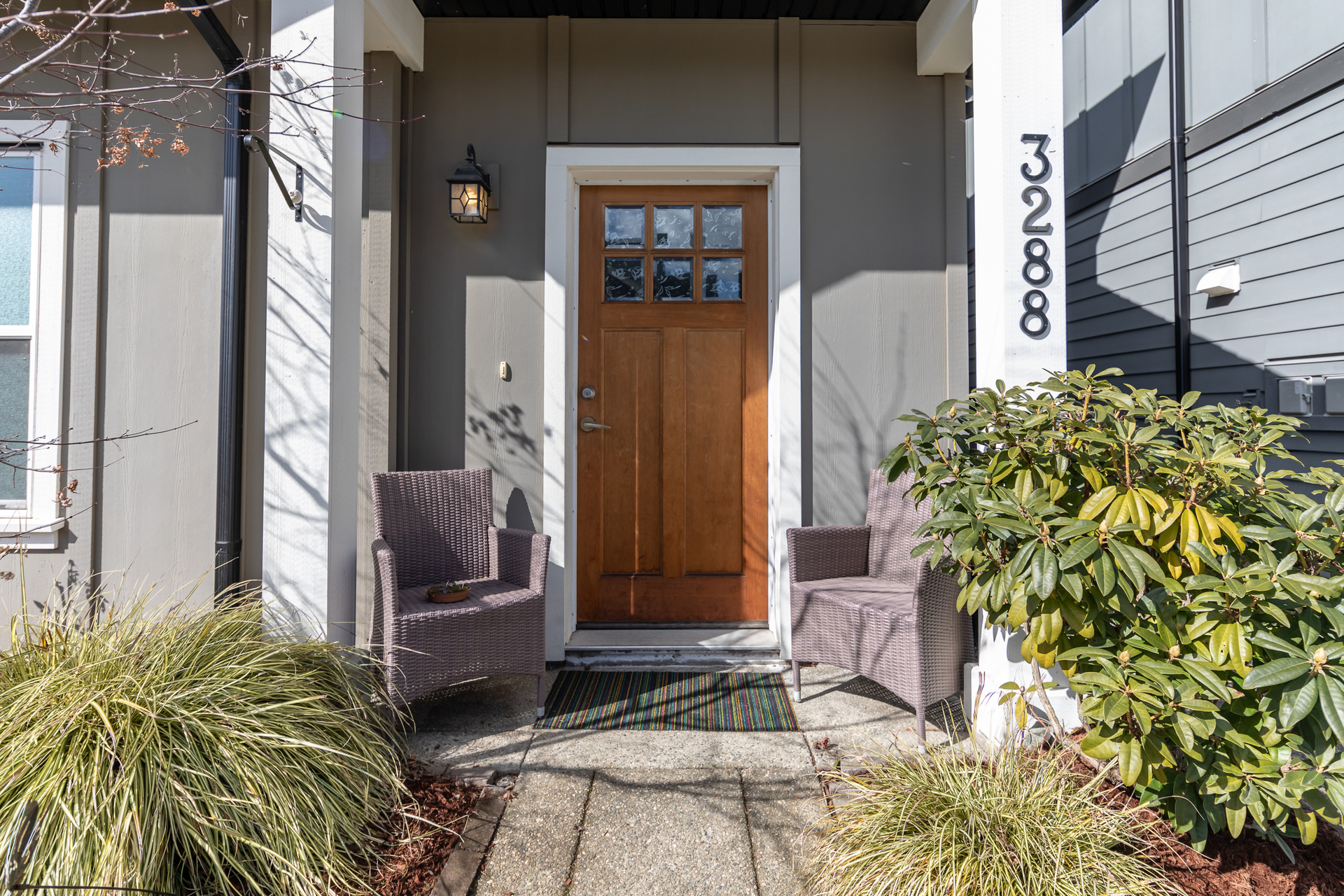 Front Entry at 3288 Merlin Road, Langford Langford, Vancouver Island