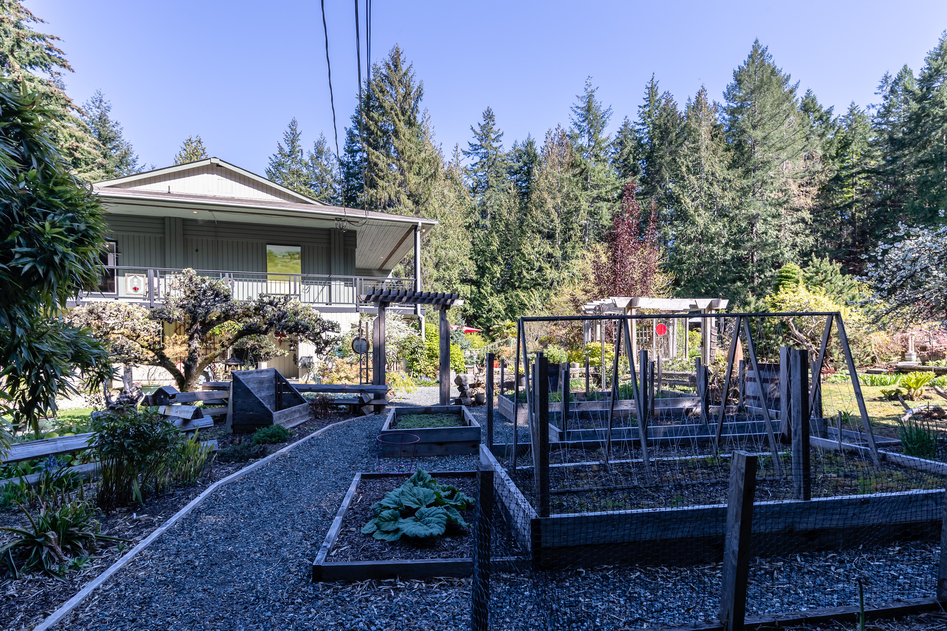 Space For Gardening at 5101 Island Highway West, Qualicum North, Oceanside