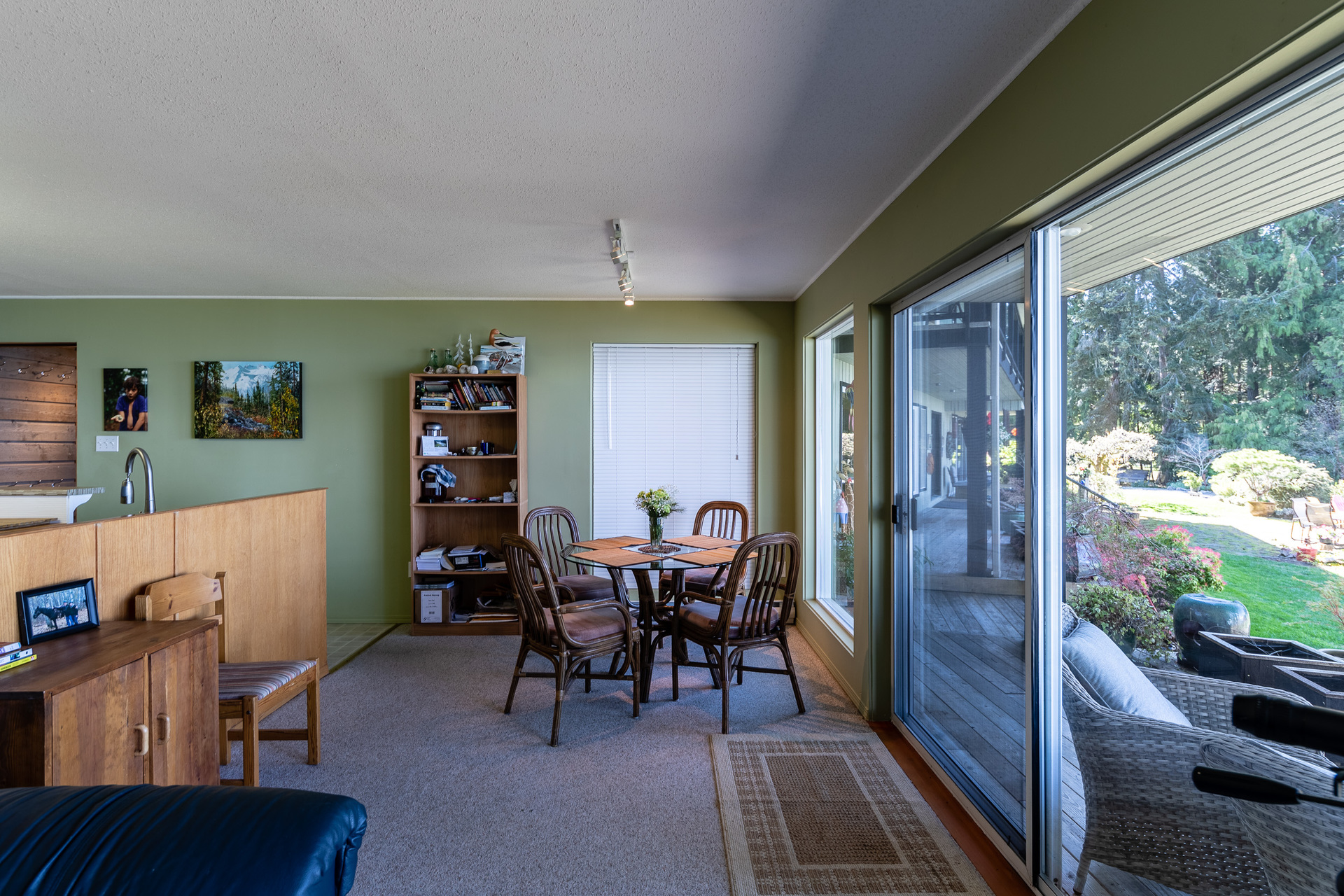 Lower Guest Suite Dining Area at 5101 Island Highway West, Qualicum North, Oceanside