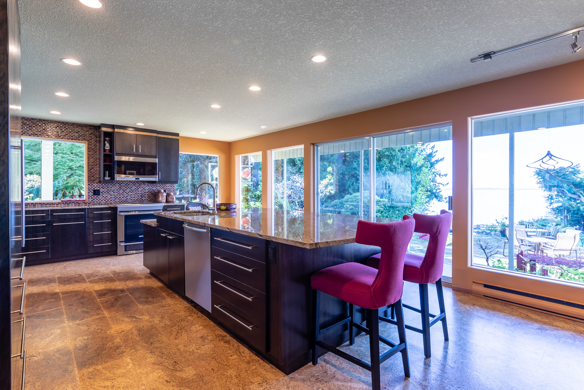 Main Kitchen at 5101 Island Highway West, Qualicum North, Oceanside
