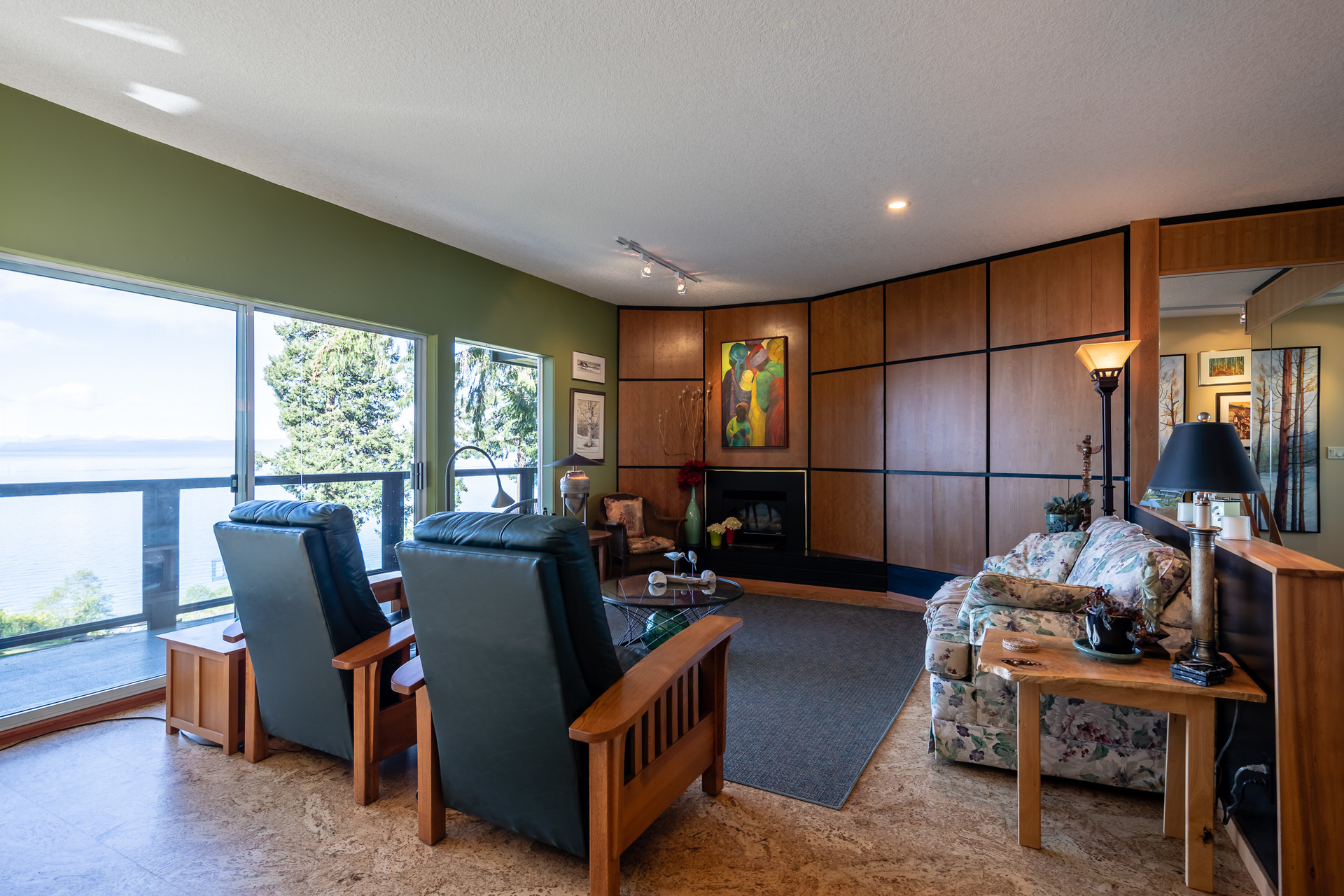 First Master Suite Living Room at 5101 Island Highway West, Qualicum North, Oceanside