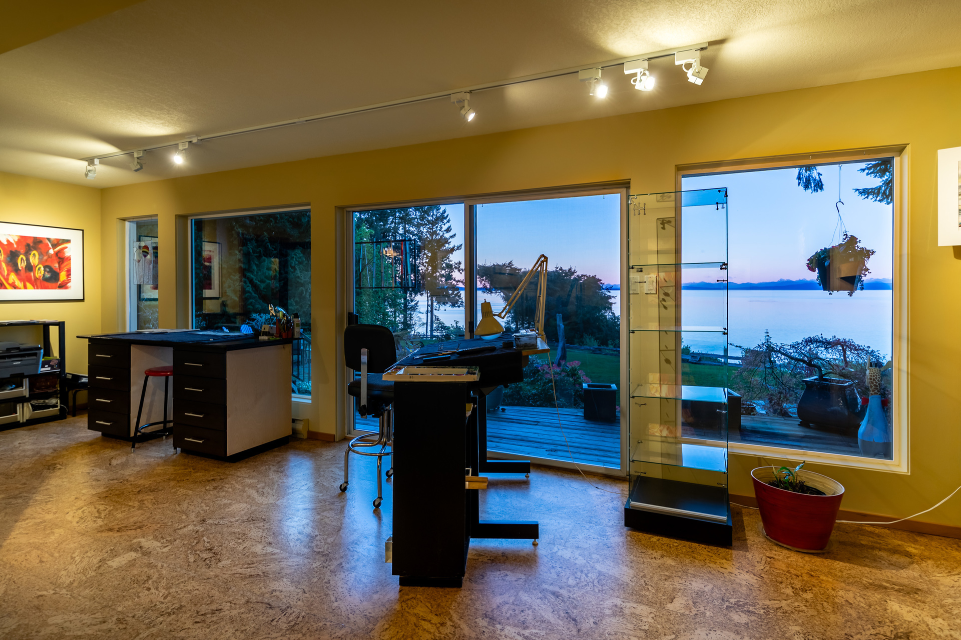 Main Studio/Office at 5101 Island Highway West, Qualicum North, Oceanside