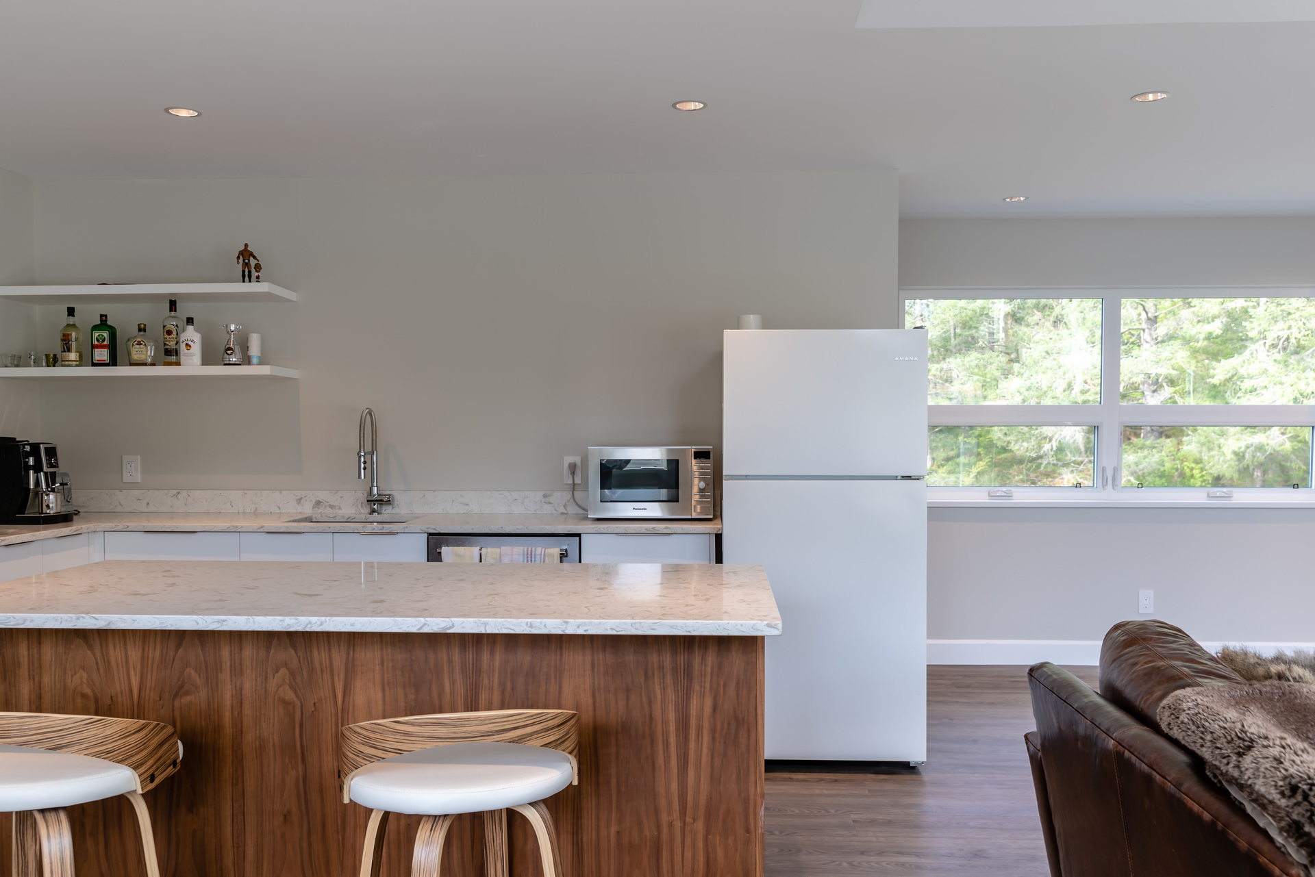 Suite Kitchen at 5101 Jagtar's Way, Victoria, Vancouver Island,