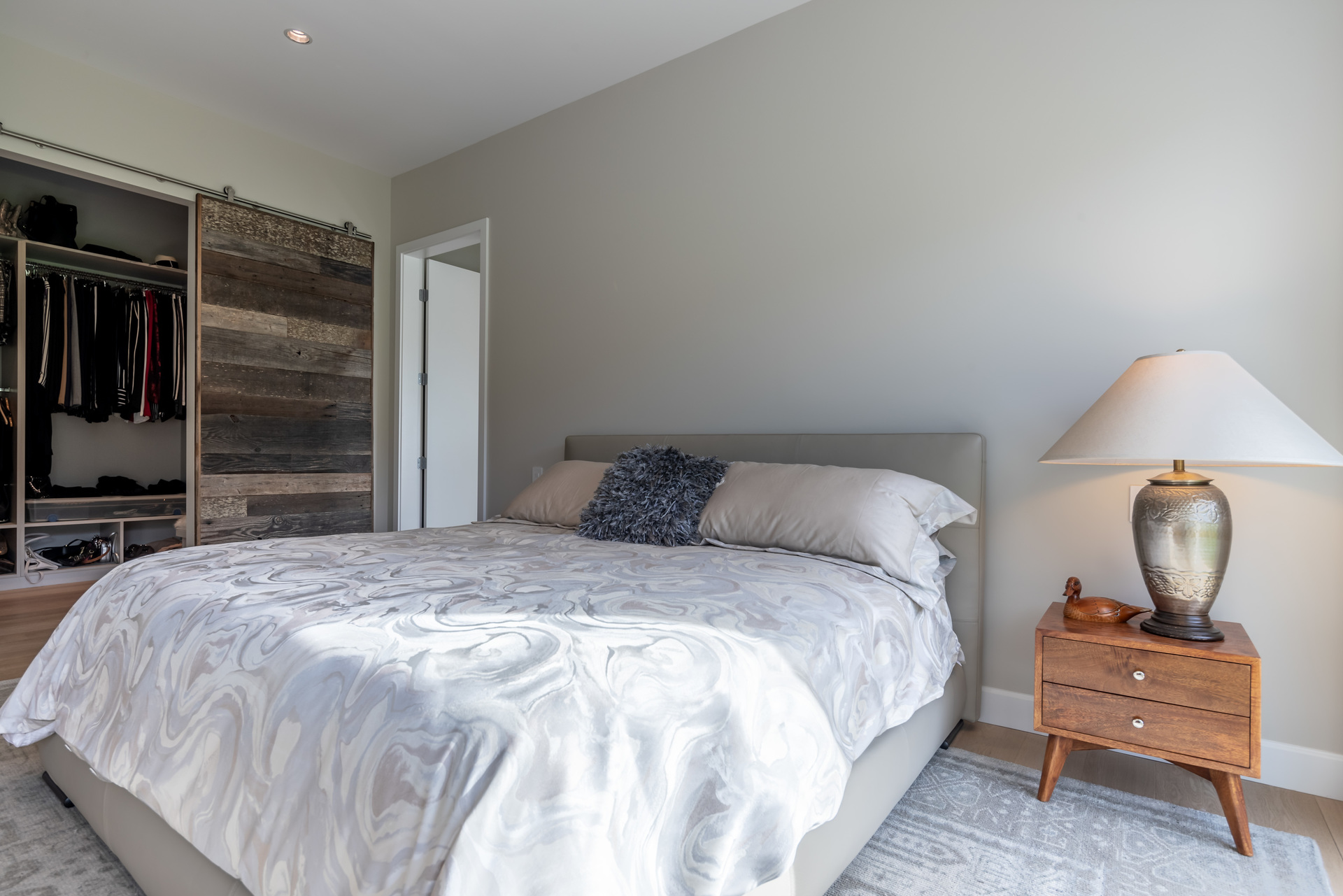 Master Bedroom & Walk-In Closet at 5101 Jagtar's Way, Victoria, Vancouver Island,