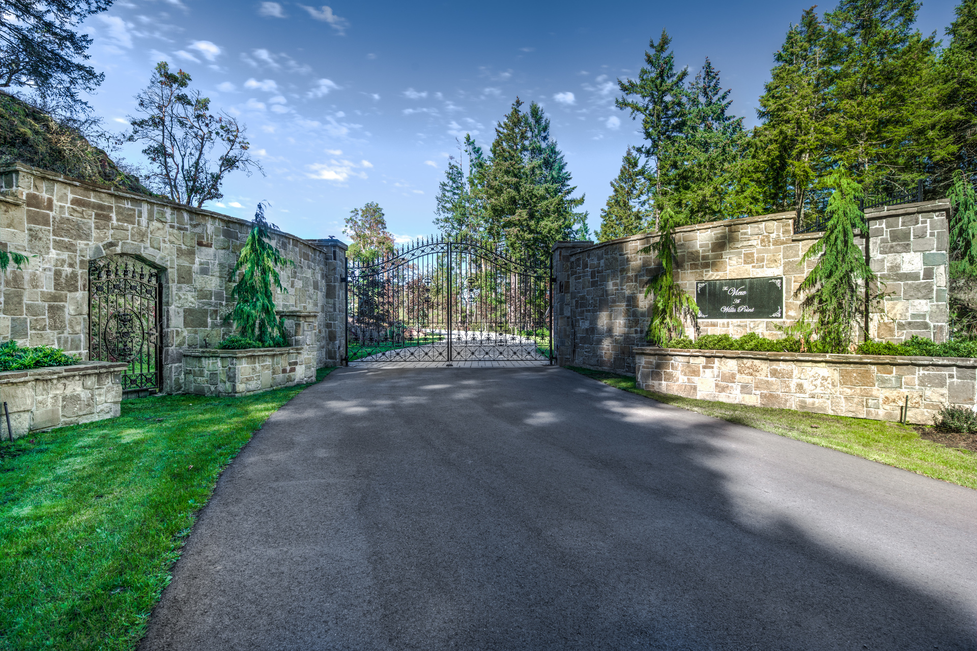 Gated Entry at 6720 Willis Road, Victoria Point,