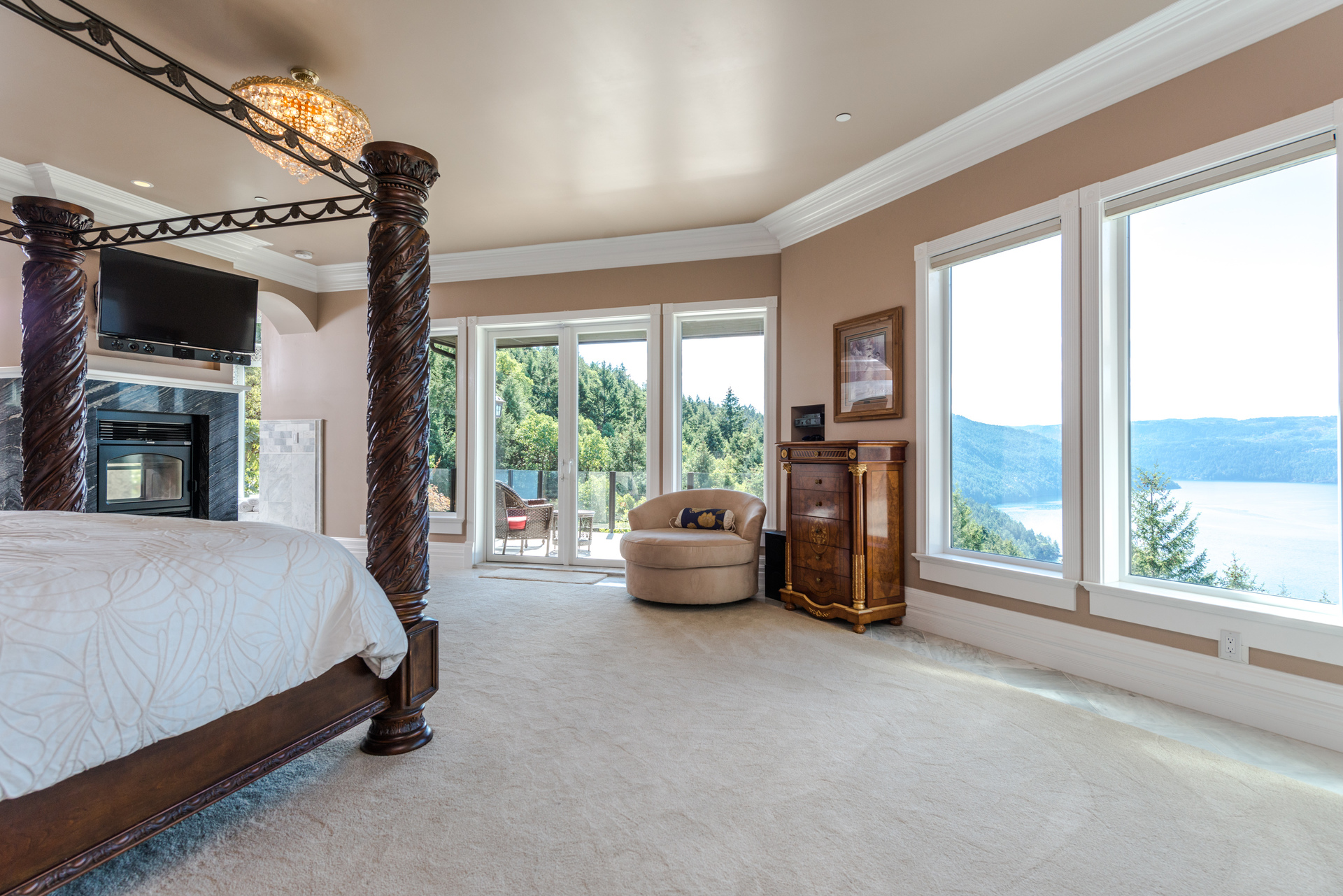 Master Bedroom at 6720 Willis Road, Victoria Point,