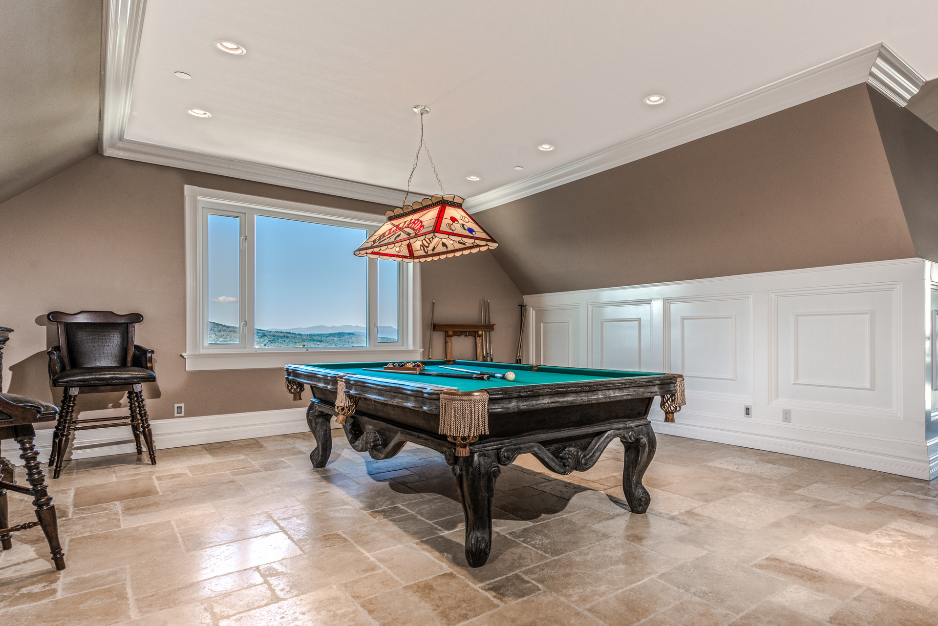 Billiards Area In The Rec Room at 6720 Willis Road, Victoria Point,