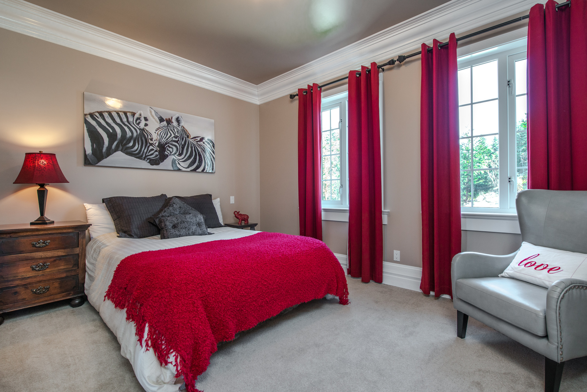 Guest Bedroom at 6720 Willis Road, Victoria Point,