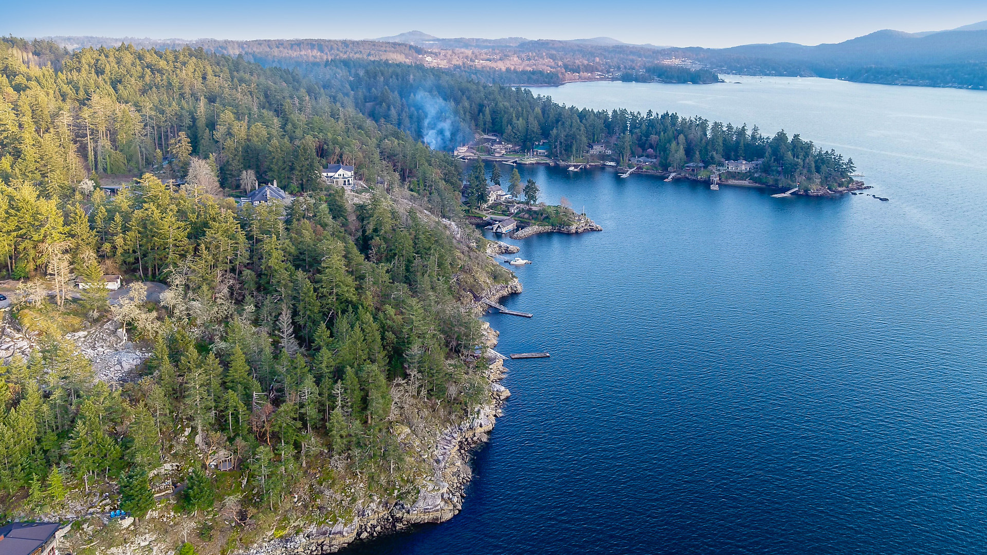 Views of the Saanich Inlet at 8100 Mcphail Road, Central Saanich, Bc,
