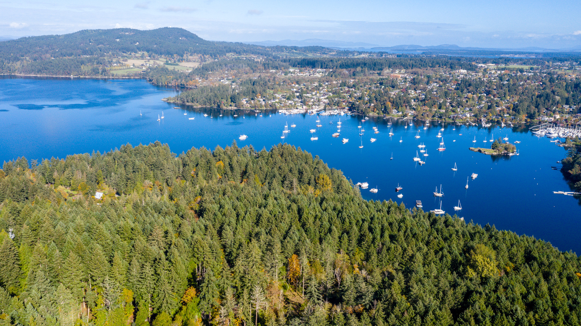 Overlooking Brentwood Bay at Lot 5 Willis Point Road, Willis Point, Central Saanich