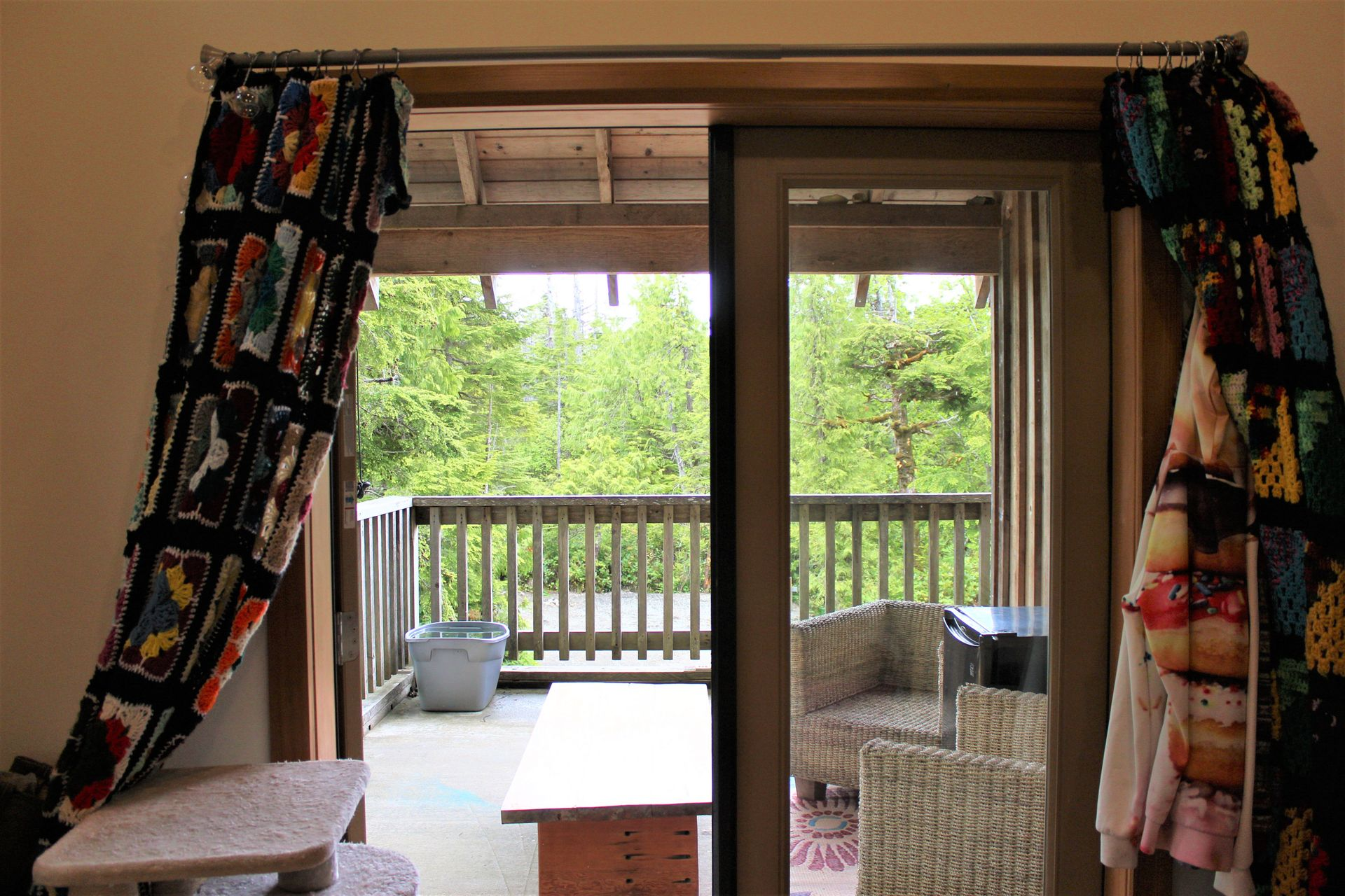 Front Deck at 1430 Pacific Rim Highway, Tofino, Port Alberni and West Coast