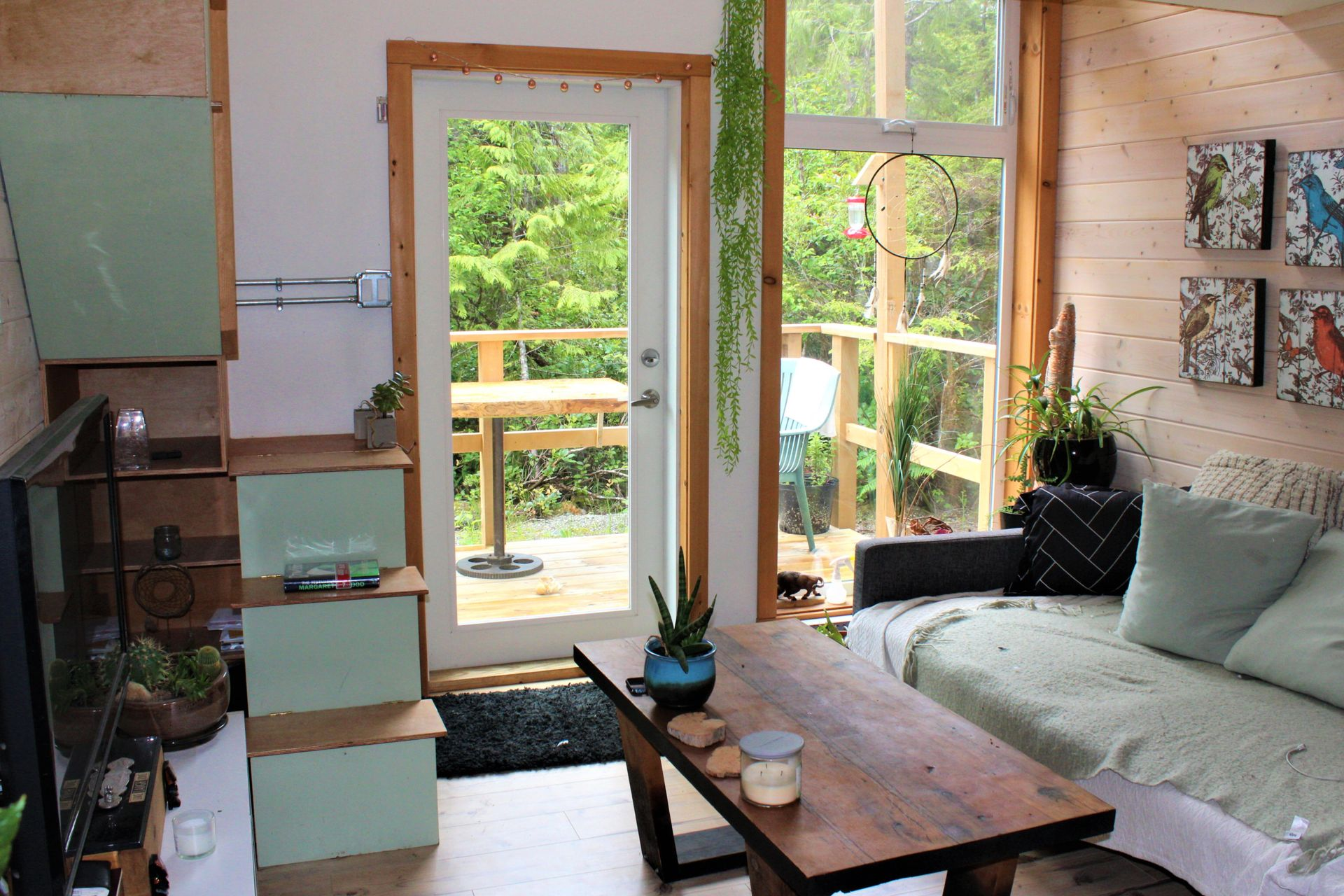 Interior of 2nd Tiny Home at 1430 Pacific Rim Highway, Tofino, Port Alberni and West Coast
