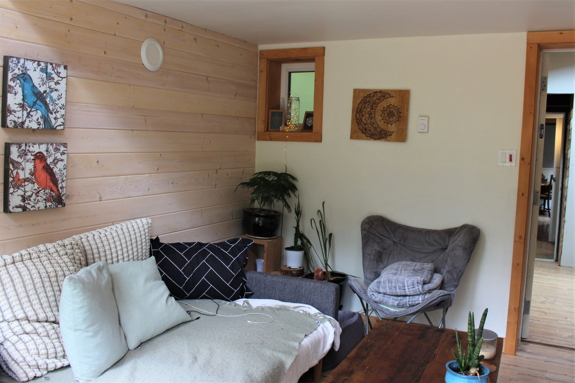 Living Area in 2nd Tiny Home at 1430 Pacific Rim Highway, Tofino, Port Alberni and West Coast