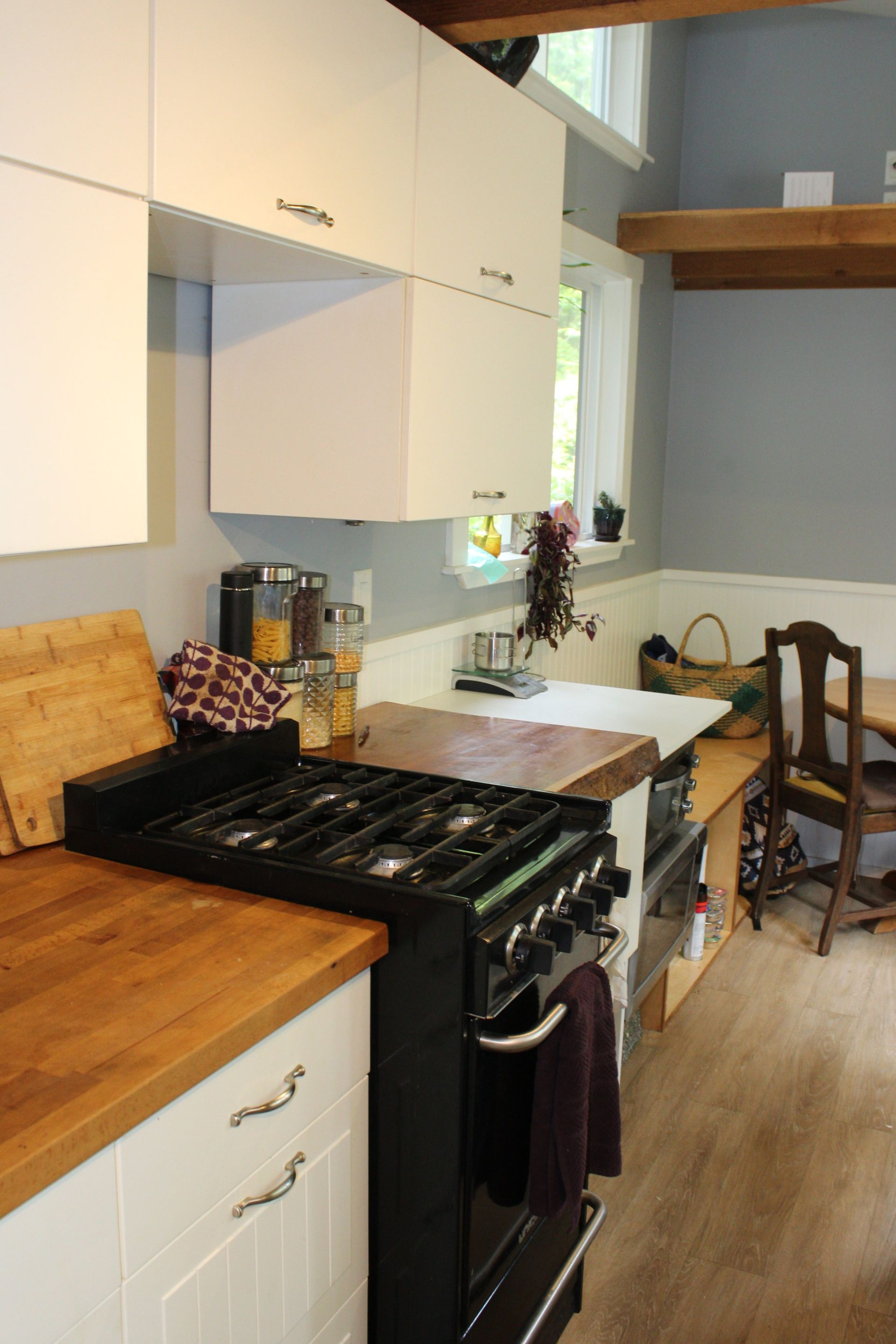 Kitchen in 2nd Tiny Home at 1430 Pacific Rim Highway, Tofino, Port Alberni and West Coast