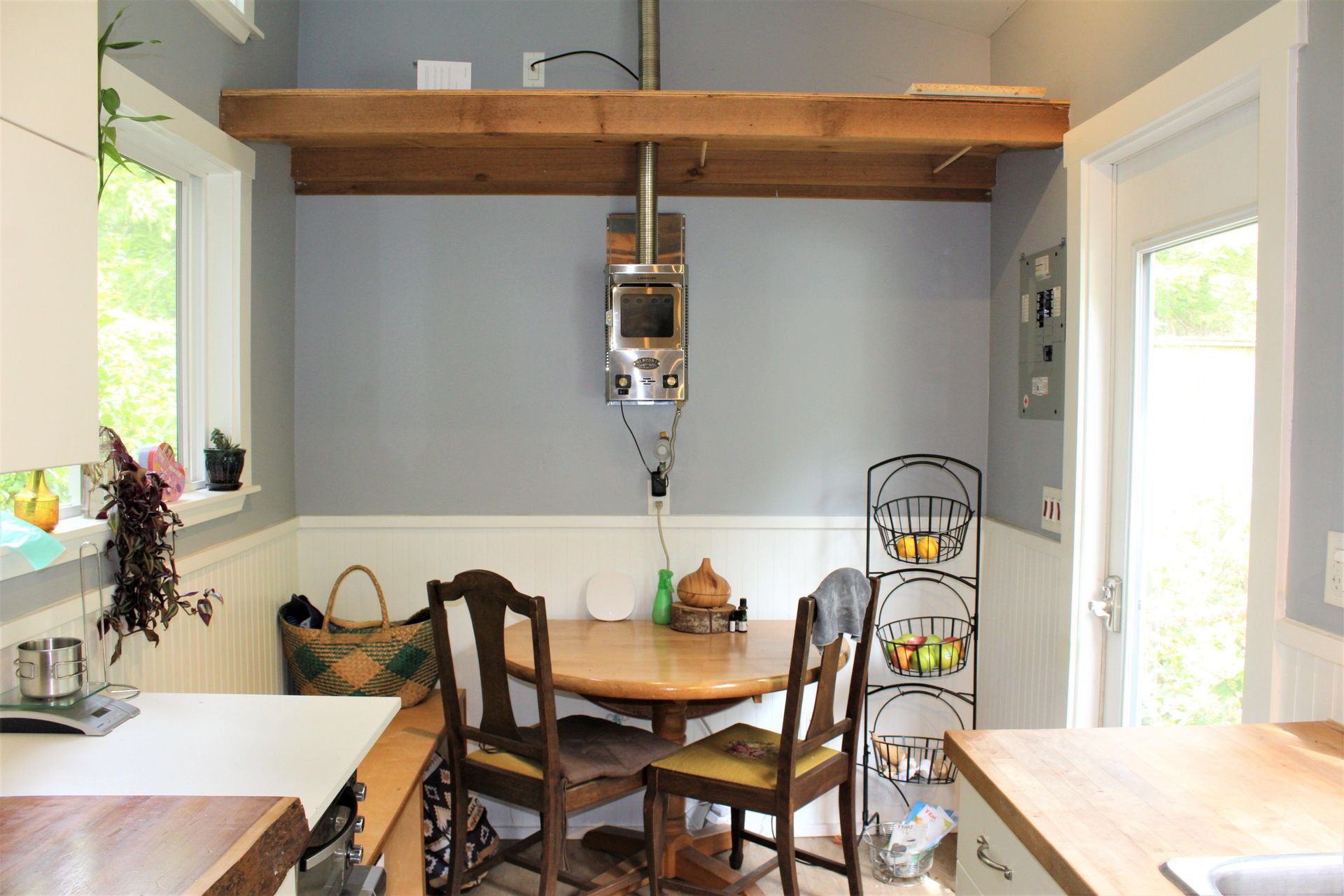 Kitchen / Dining in 2nd Tiny Home at 1430 Pacific Rim Highway, Tofino, Port Alberni and West Coast