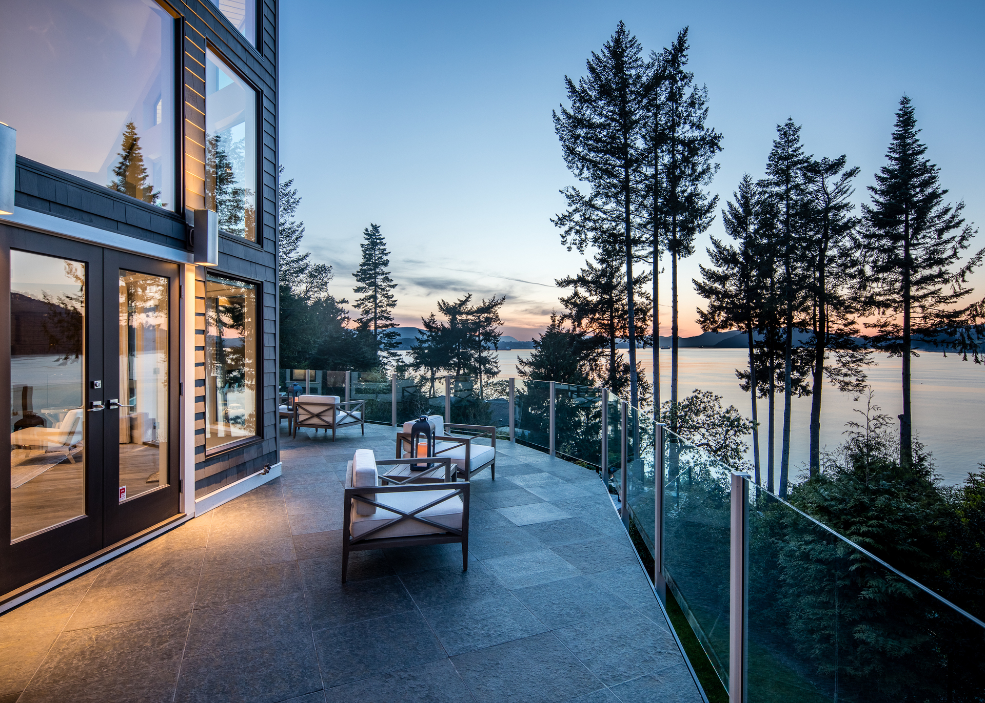 Sunset Deck Views at 518 North Lands End Road, Saanich Saanich, Vancouver Island