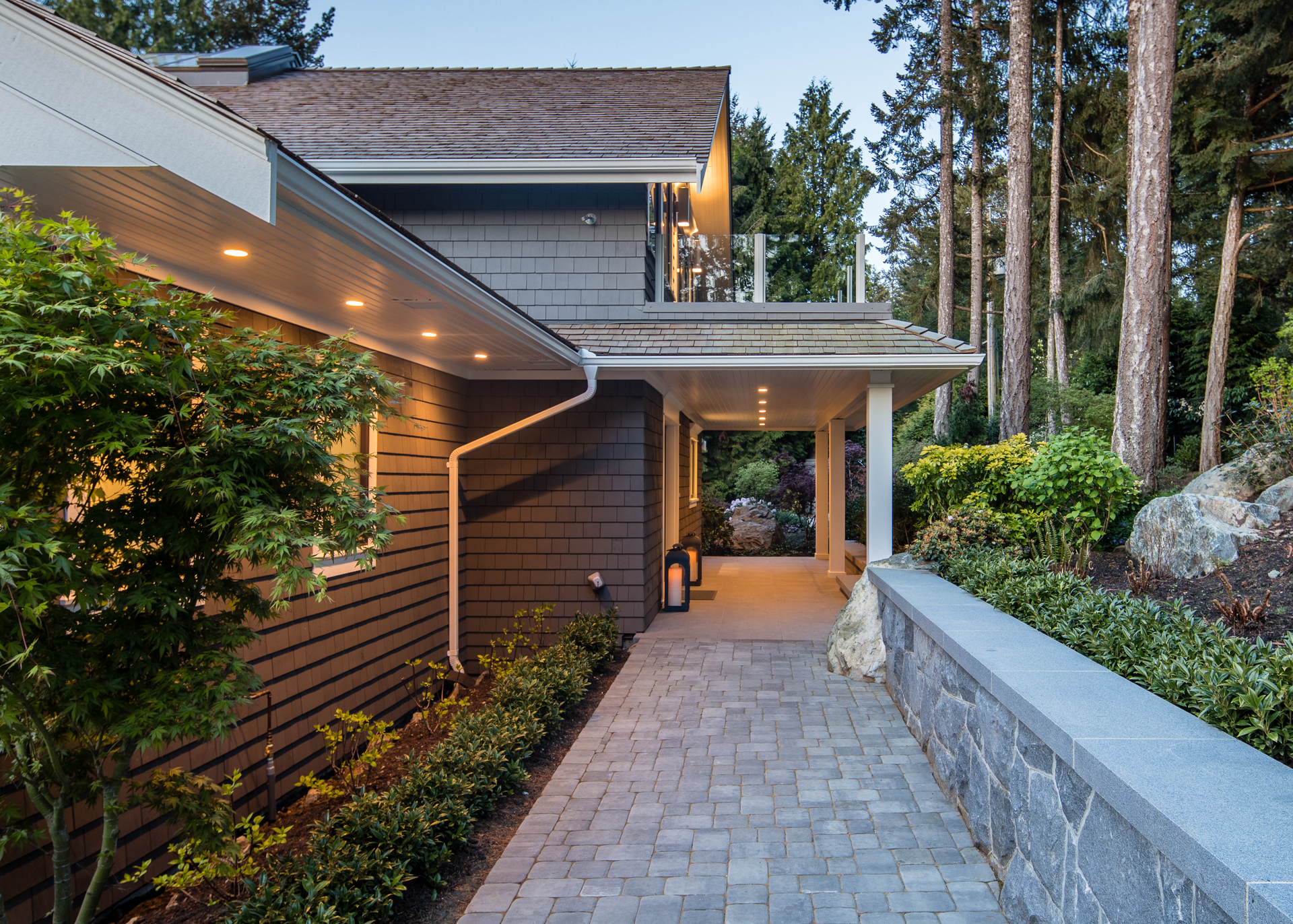 Side Entry at 518 North Lands End Road, Saanich Saanich, Vancouver Island