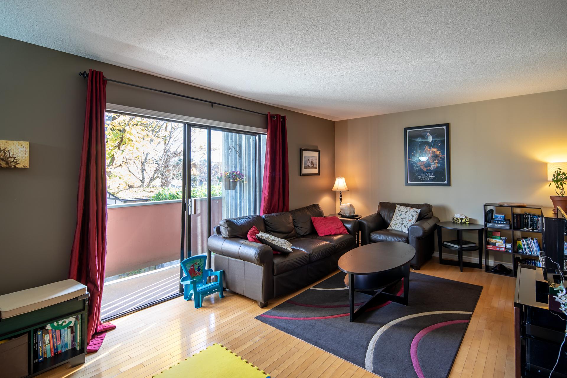 Upper Living Room at 1545 North Dairy Road, Oaklands, Victoria Bc,