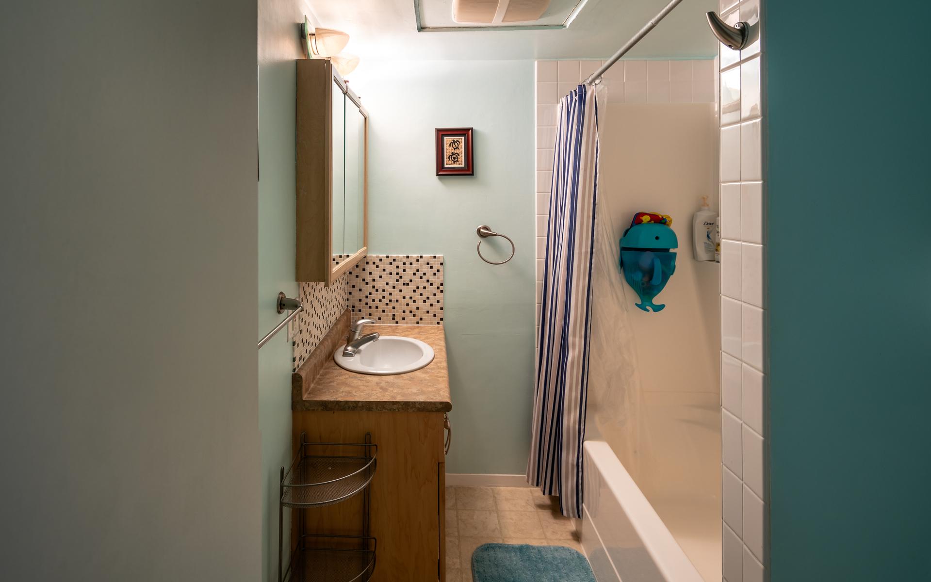 Bathroom at 1545 North Dairy Road, Oaklands, Victoria Bc,