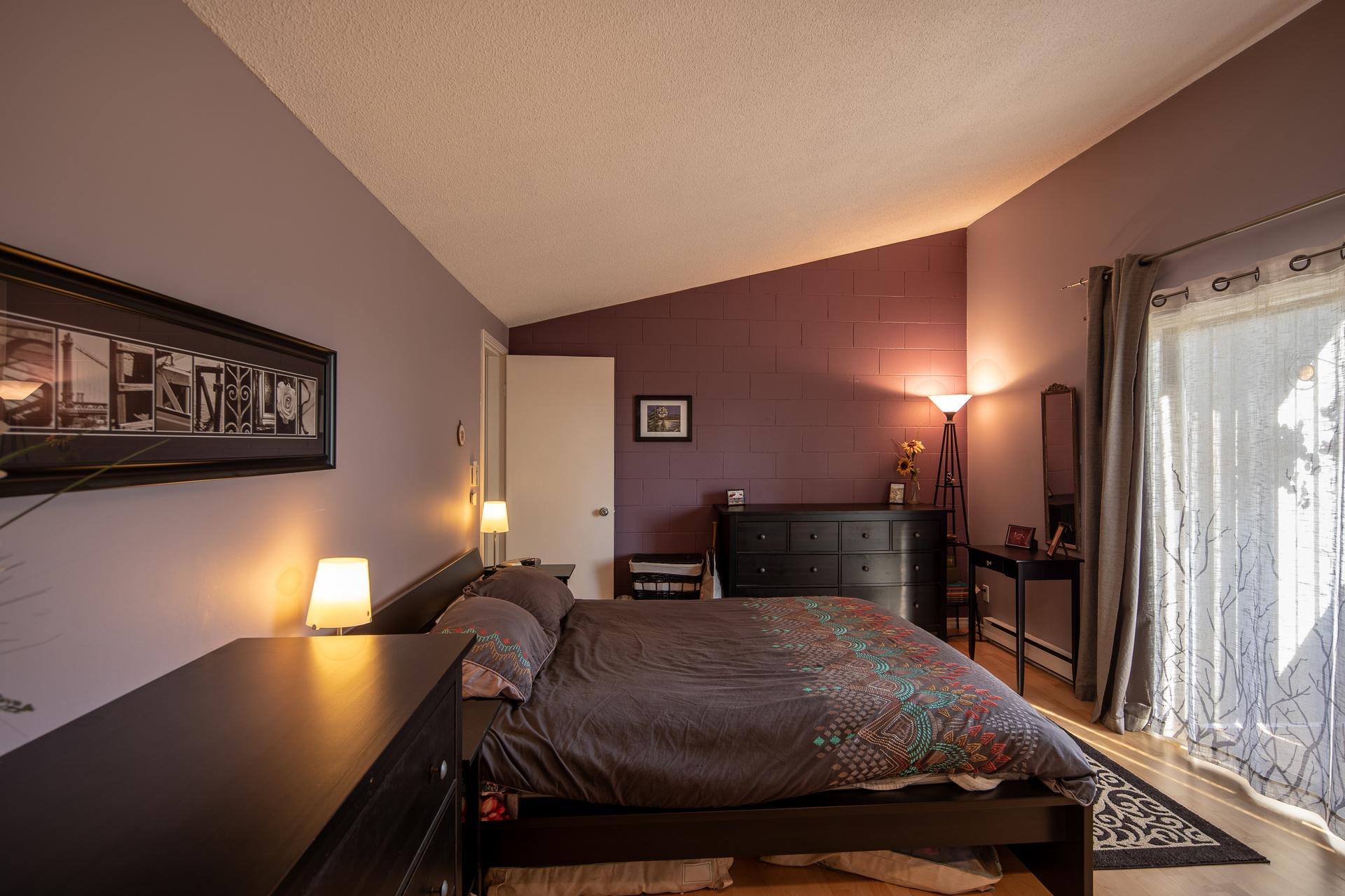 Master Bedroom at 1545 North Dairy Road, Oaklands, Victoria Bc,