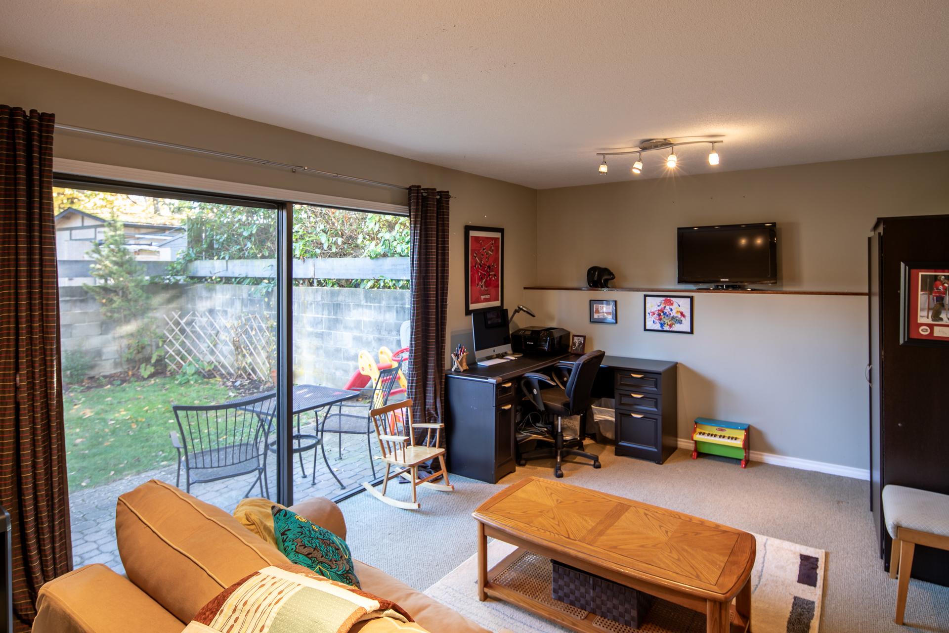 Main Living Room at 1545 North Dairy Road, Oaklands, Victoria Bc,