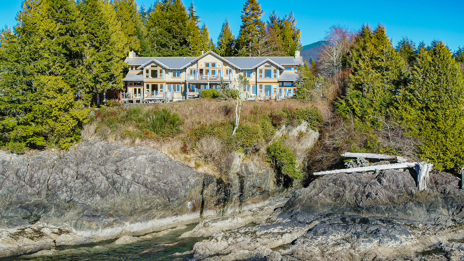 210 Neill from the water at 210 Neill Street, Tofino, Port Alberni and West Coast