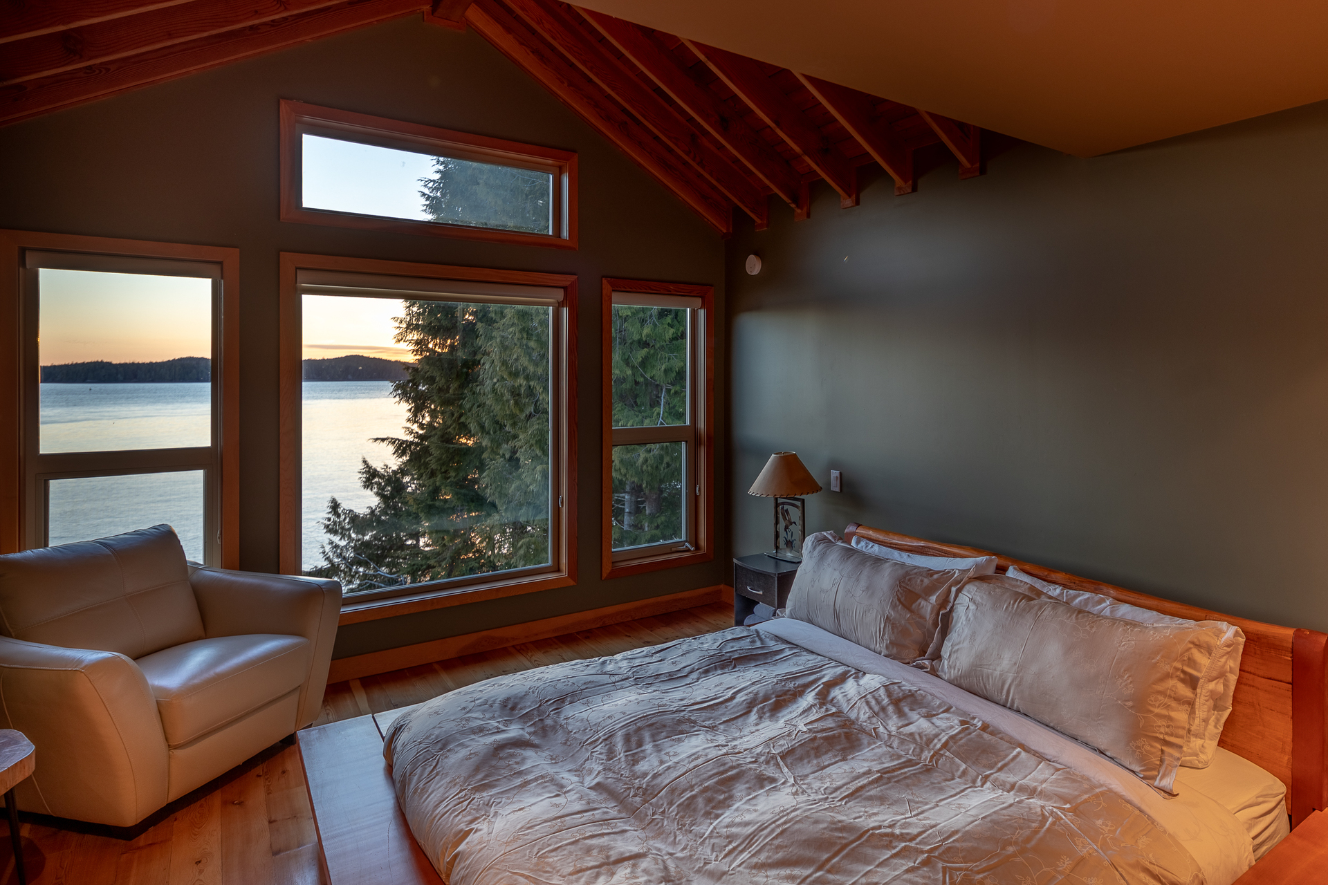 Bedroom at 210 Neill Street, Tofino, Port Alberni and West Coast
